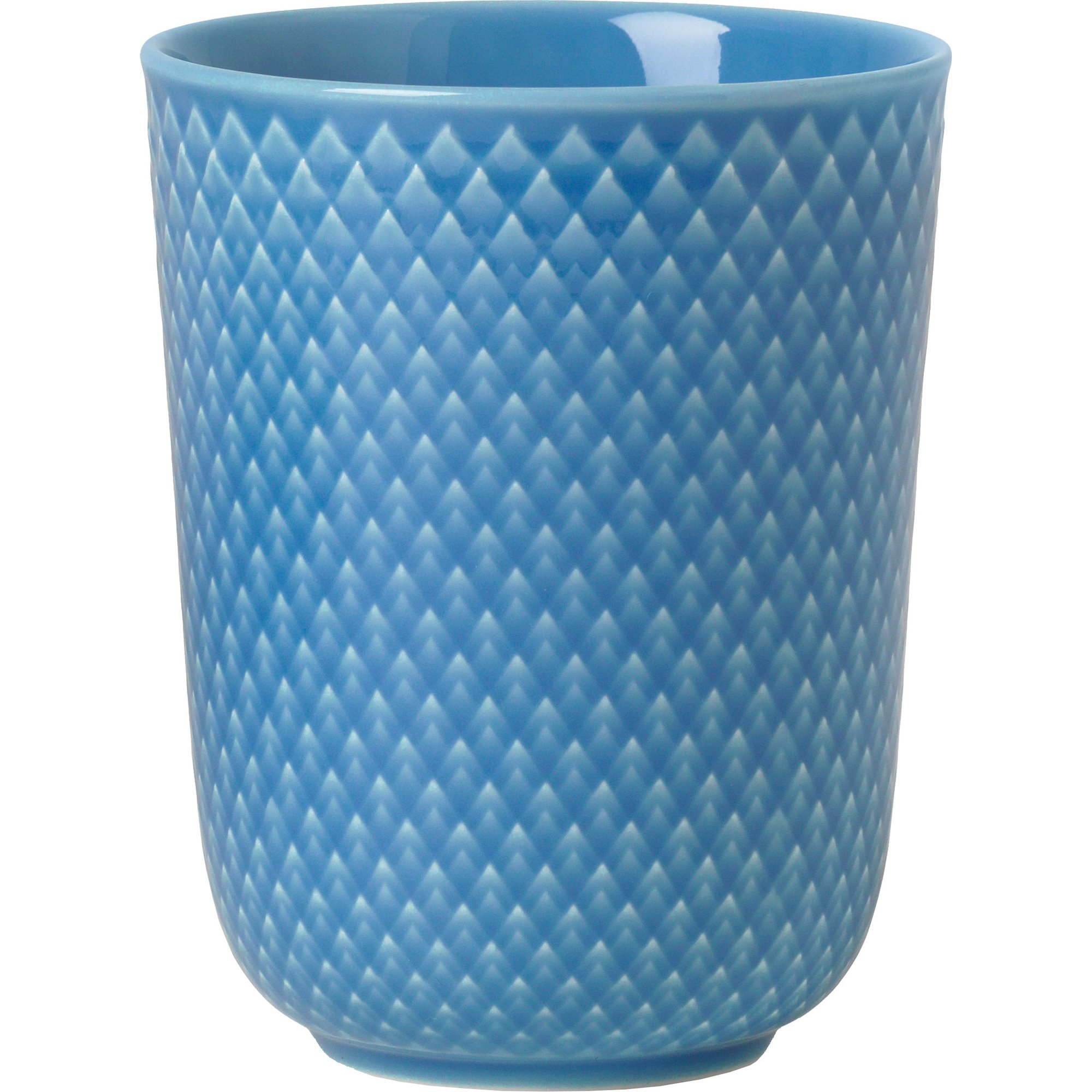Lyngby Porcelæn Rhombe Mugg 33 cl Blå