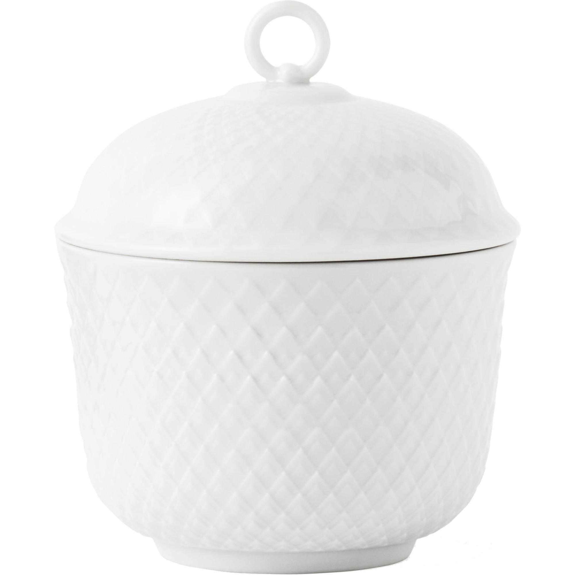 Lyngby Porcelæn Rhombe sockerskål
