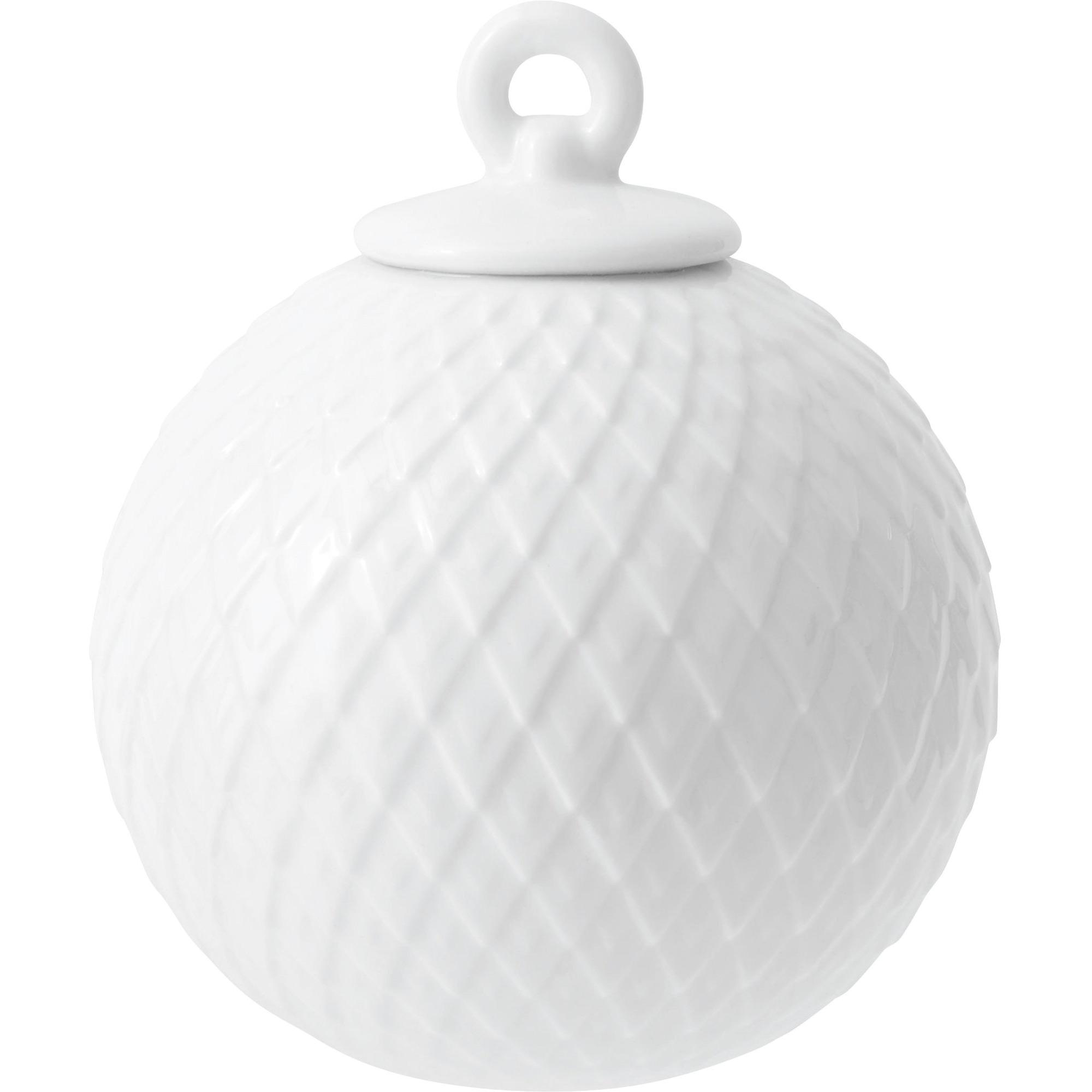 Lyngby Porcelæn Rhombe kula vit