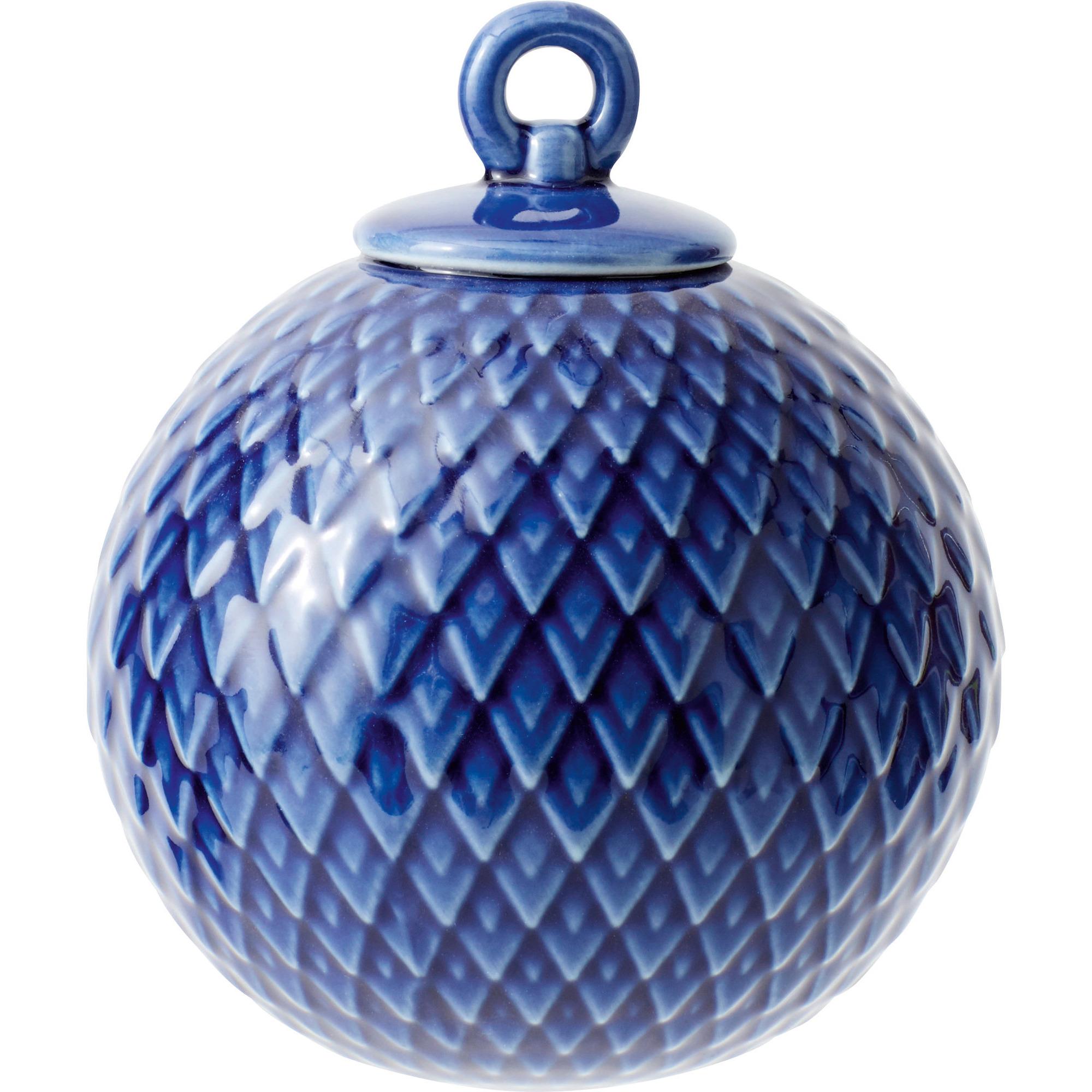 Lyngby Porcelæn Rhombe kula midnight blue