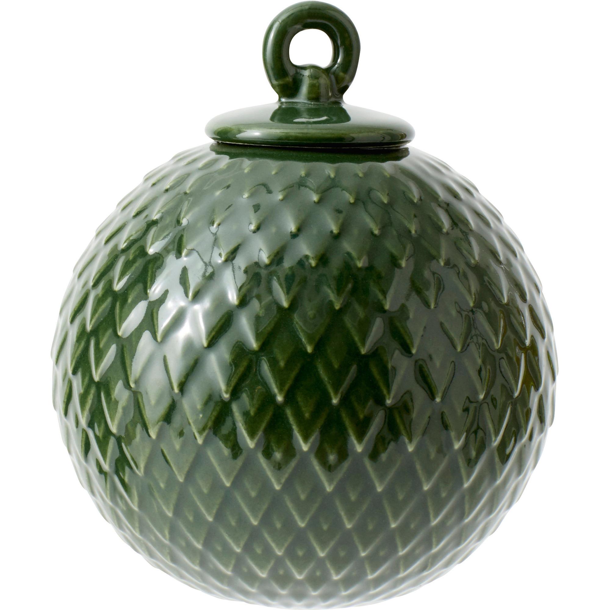 Lyngby Porcelæn Rhombe kula copenhagen grön