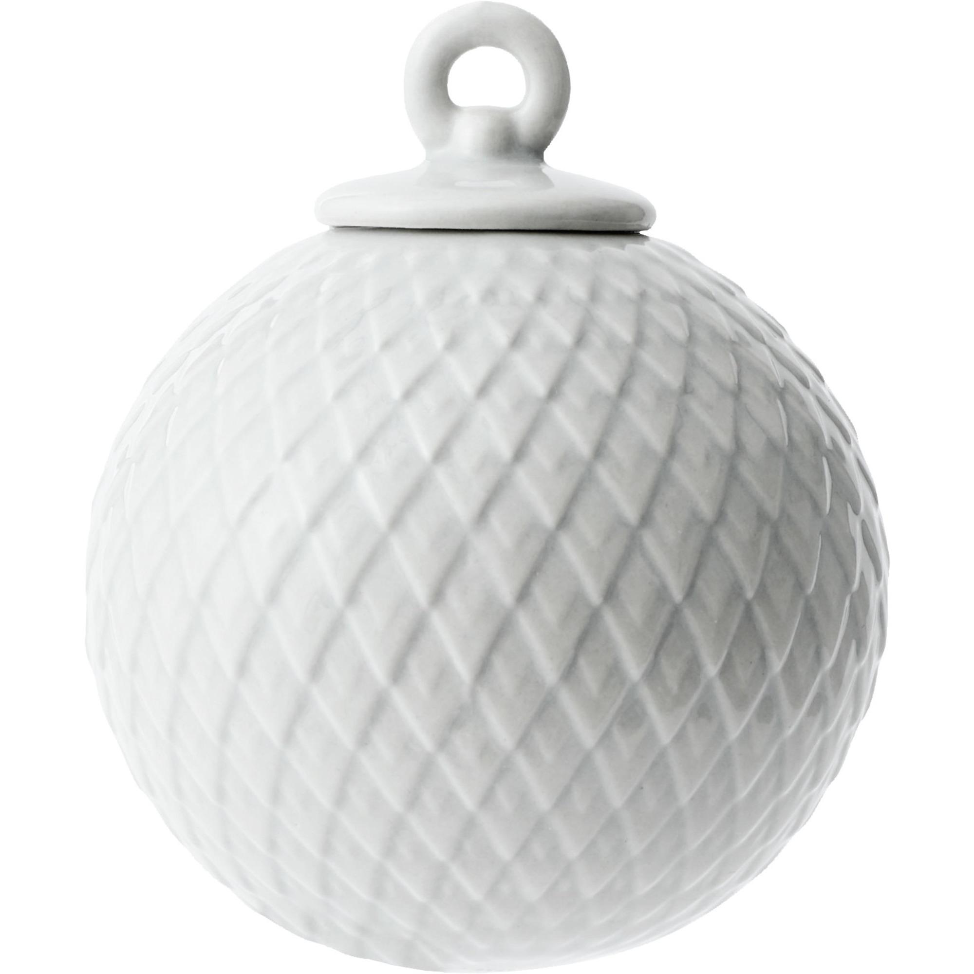 Lyngby Porcelæn Rhombe kula grå