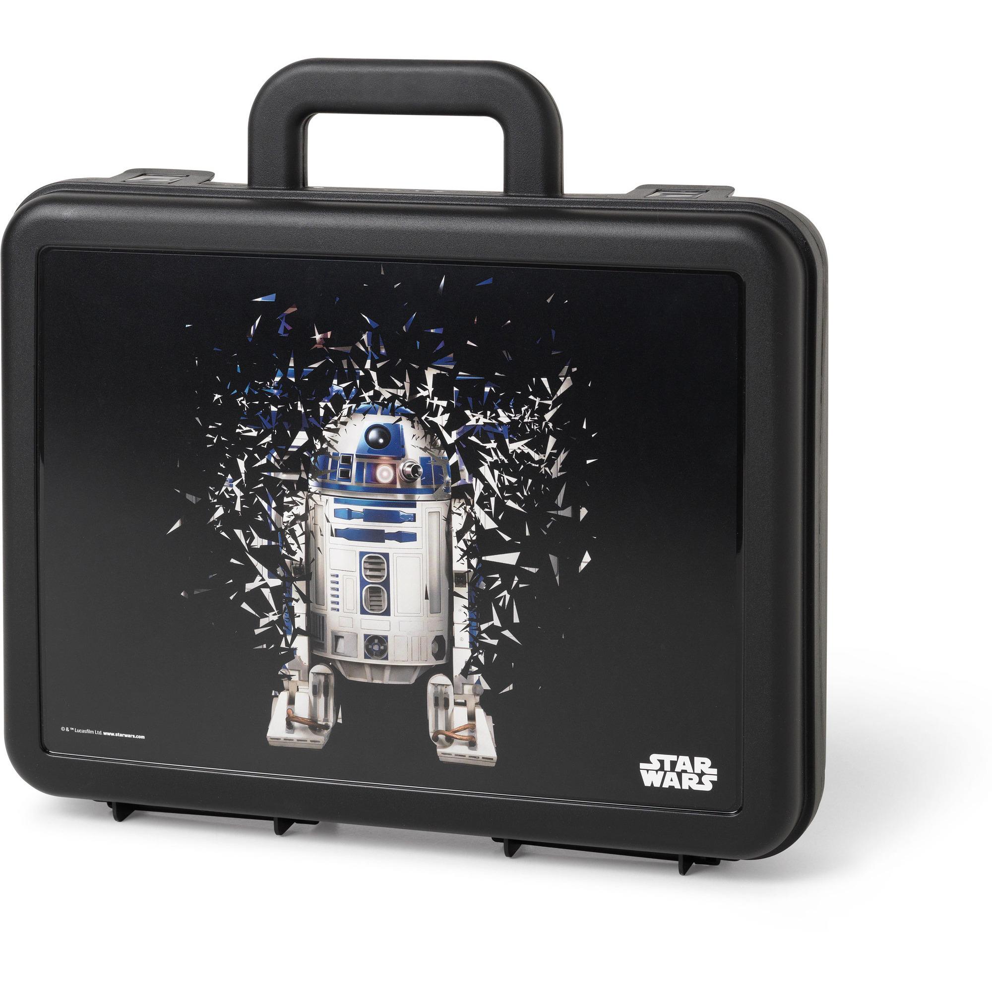 Star Wars Lunchlåda Svart R2D2