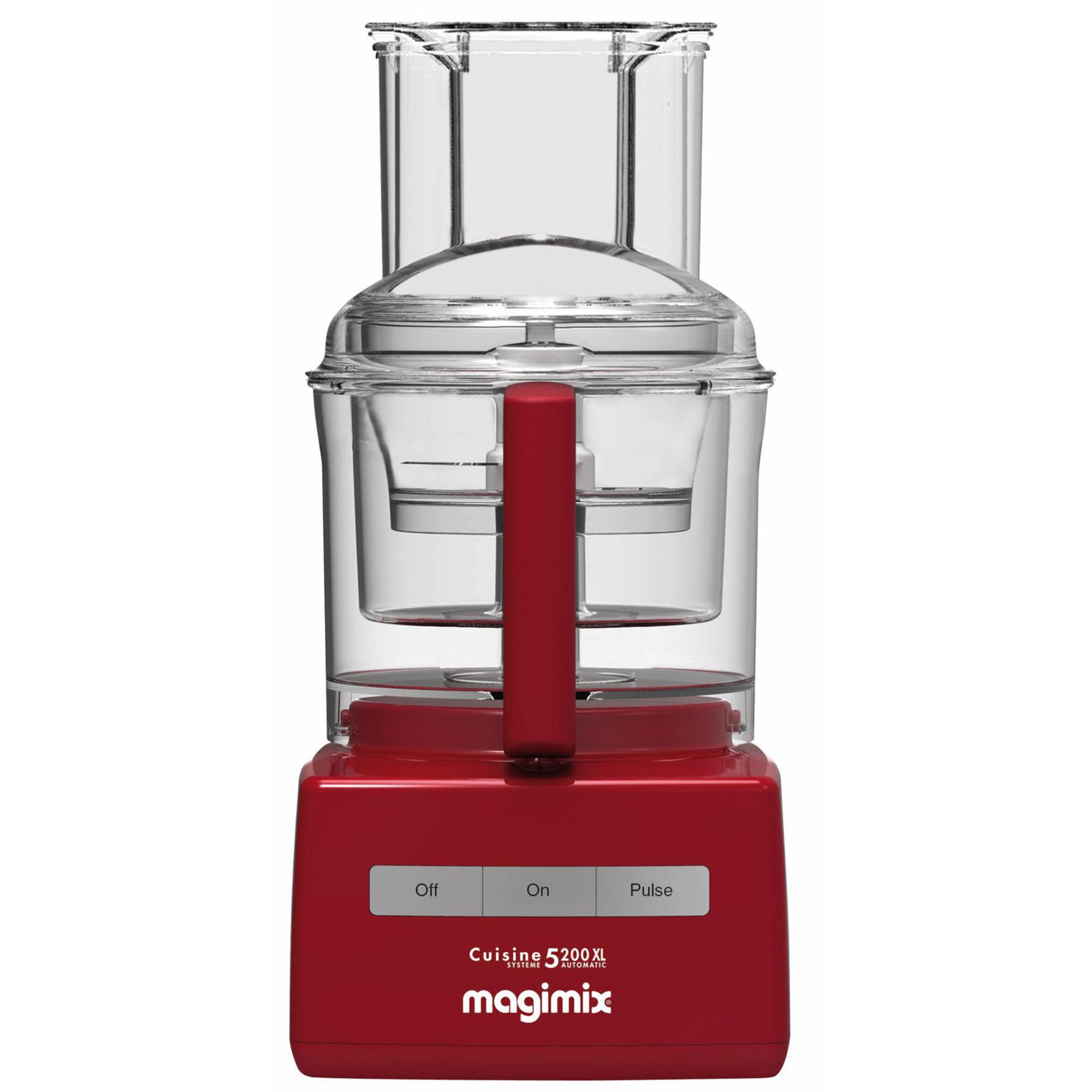 Magimix CS Matberedare 5200 XL Röd