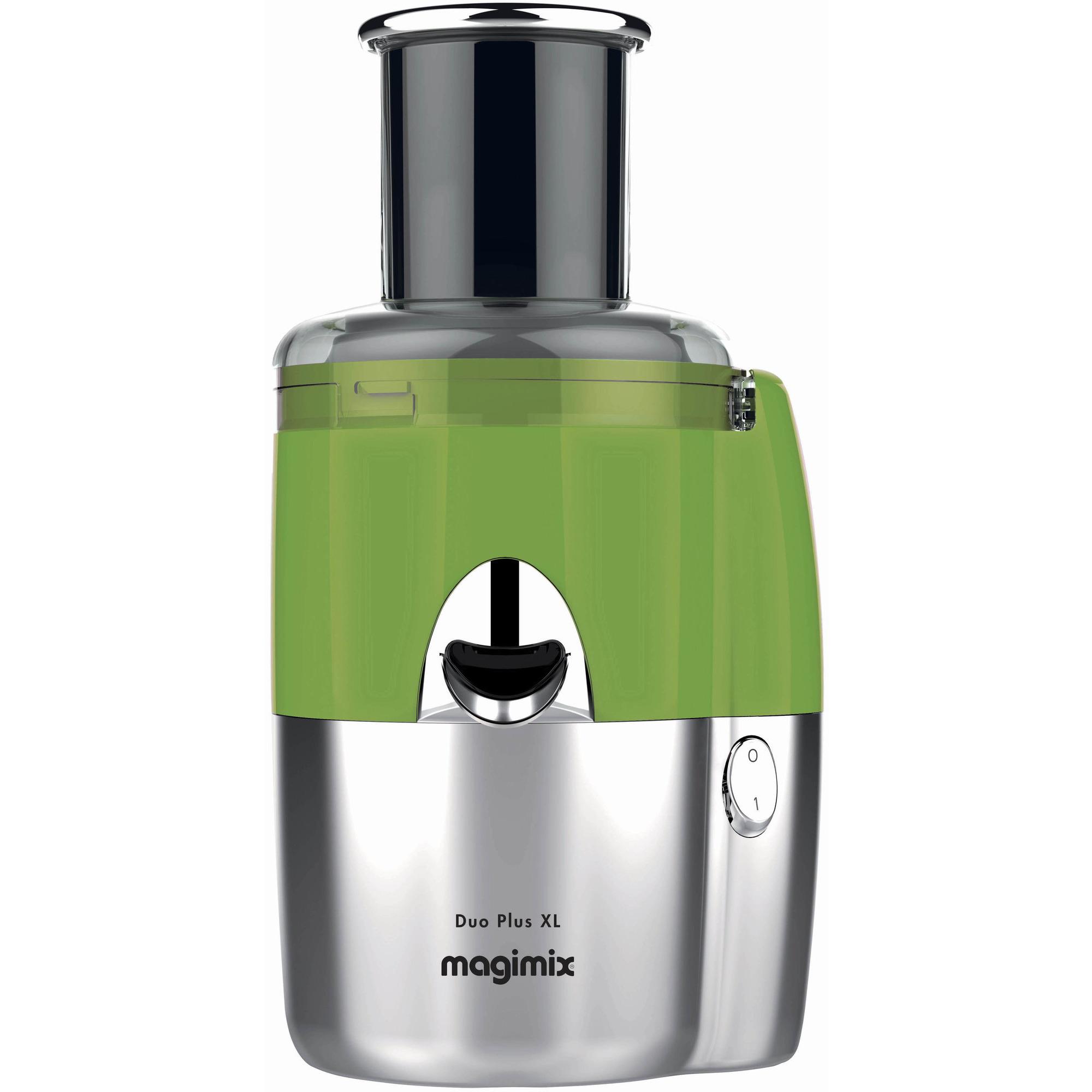 Magimix Duo Plus XL juicer/saftpr grøn/mat krom