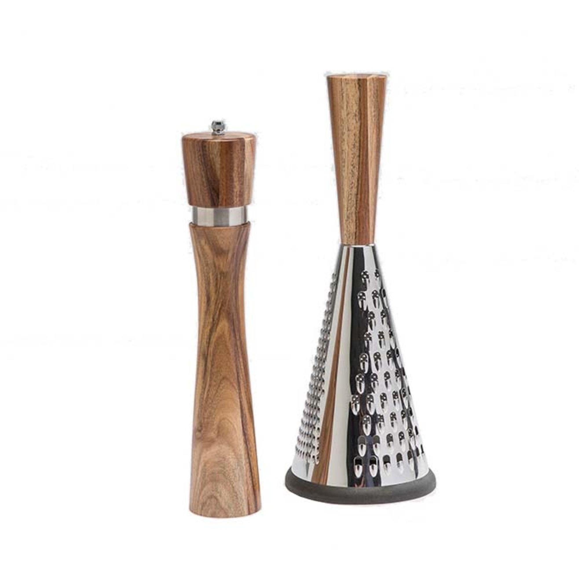 Mannerströms Pepparkvarn 32 cm och Rivjärn 34 cm