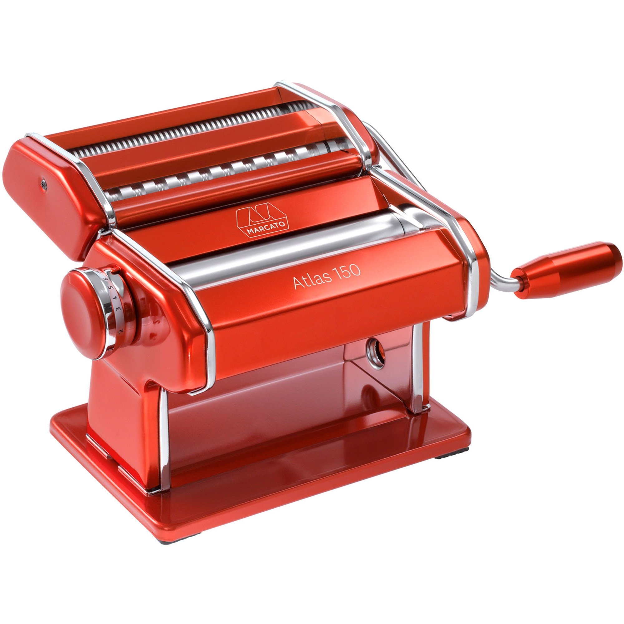 Marcato Pastamaskin Atlas 150 Design Röd