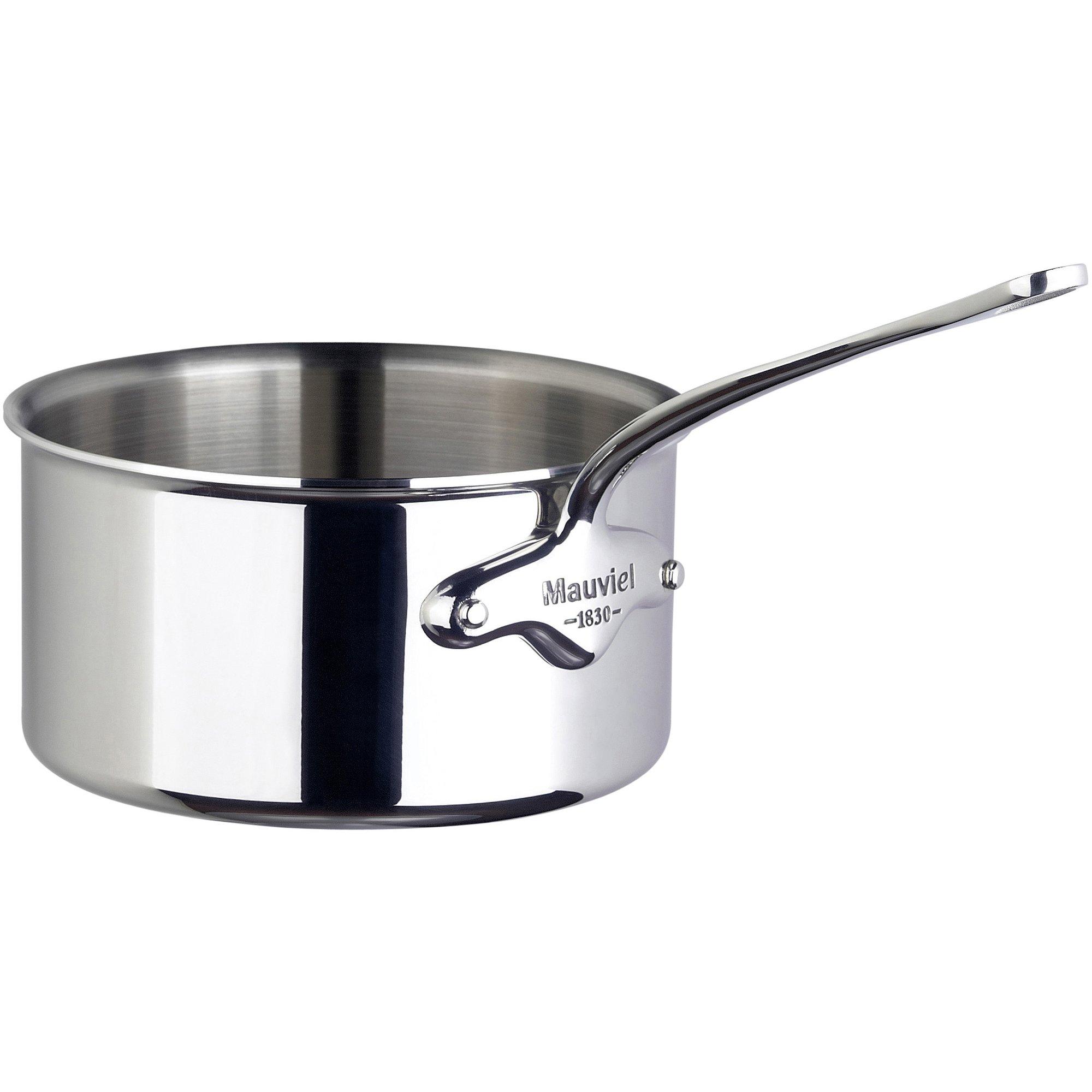 Mauviel Cook Style kastrull i stål 08 liter