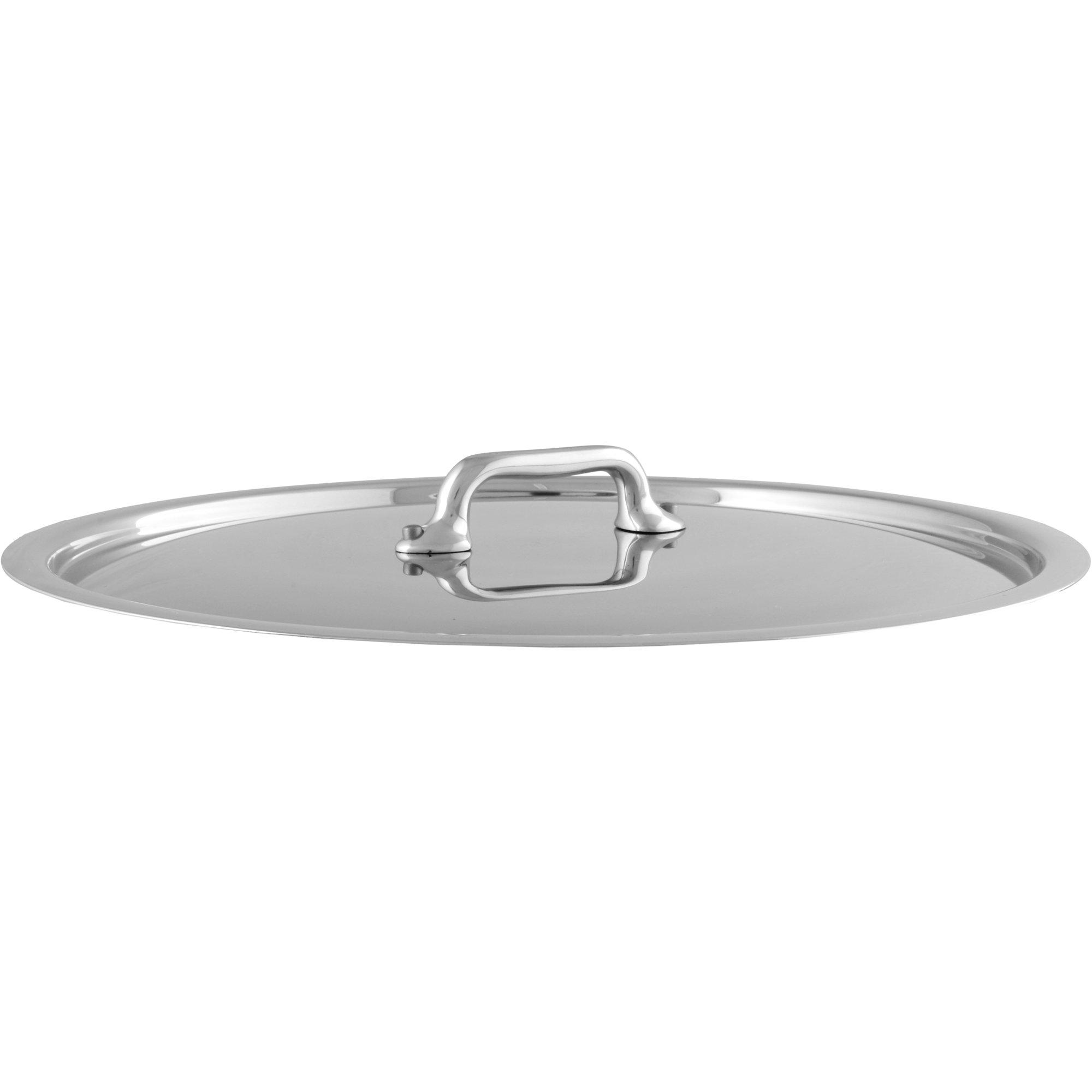 Mauviel Cook Style lock i rostfritt stål 28 cm.