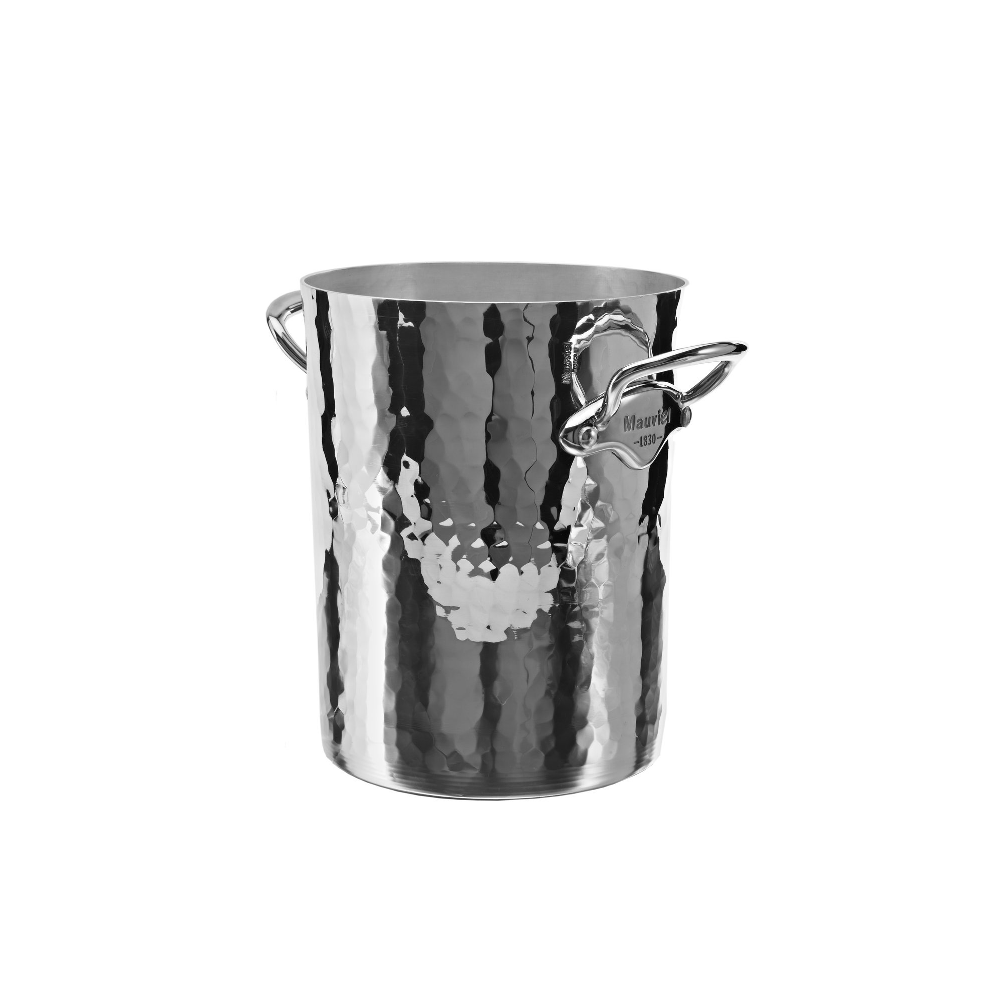 Mauviel Hög champagnekylare i aluminium