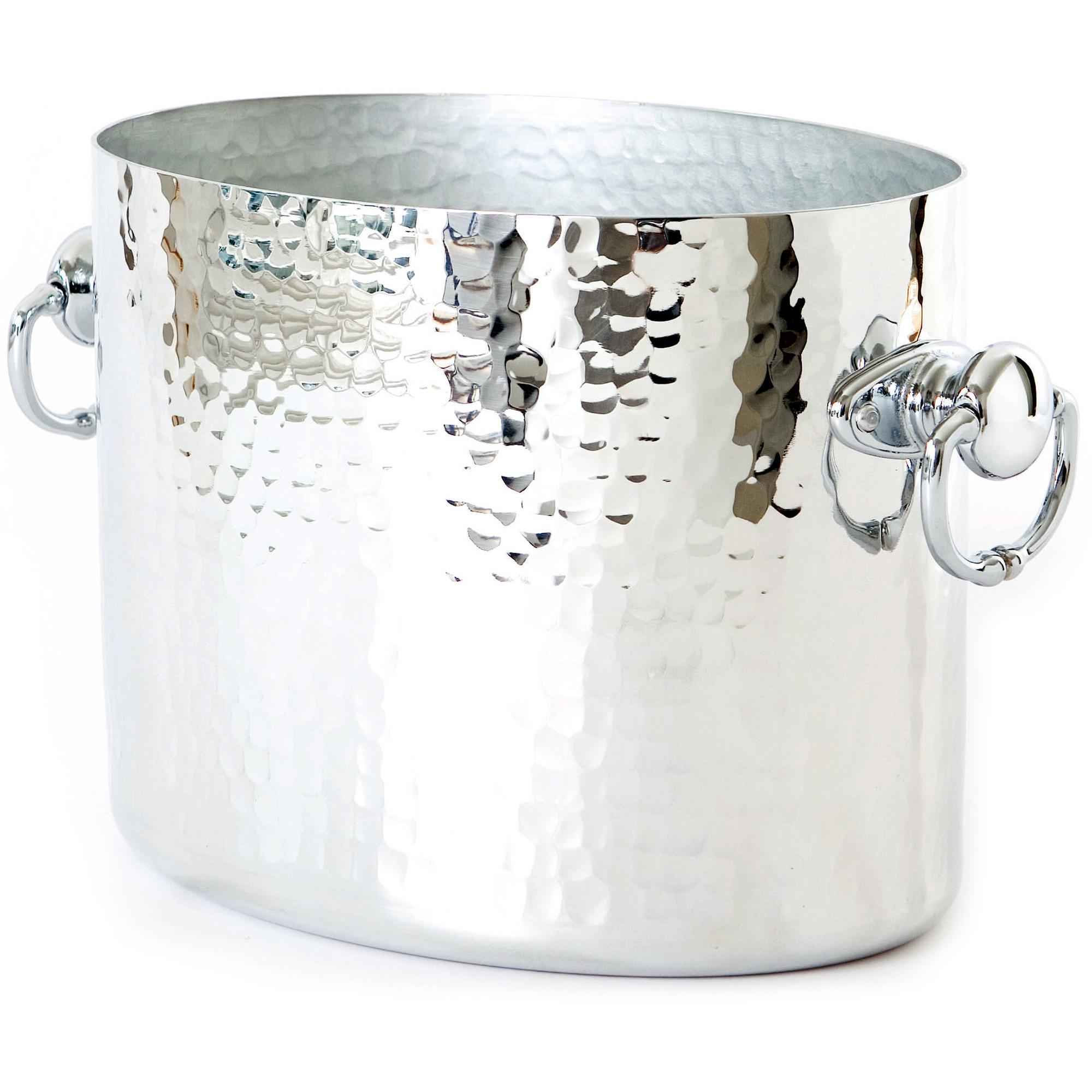 Mauviel Oval champagnekylare i aluminium