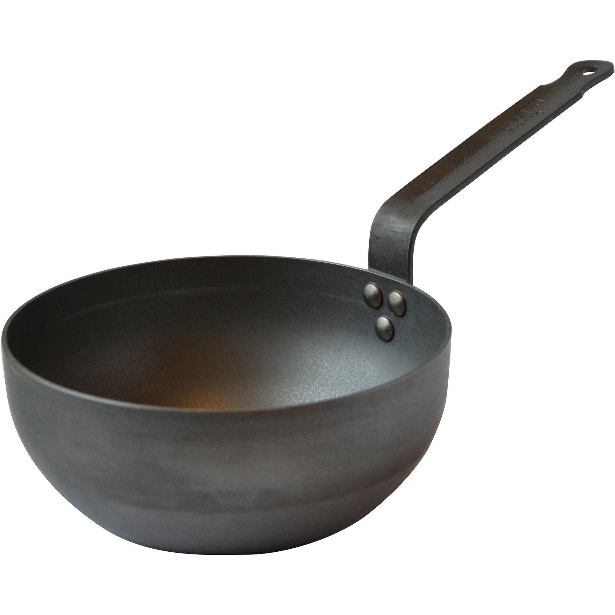 Mauviel Sautepanna rundat kolstål Ø 20 cm