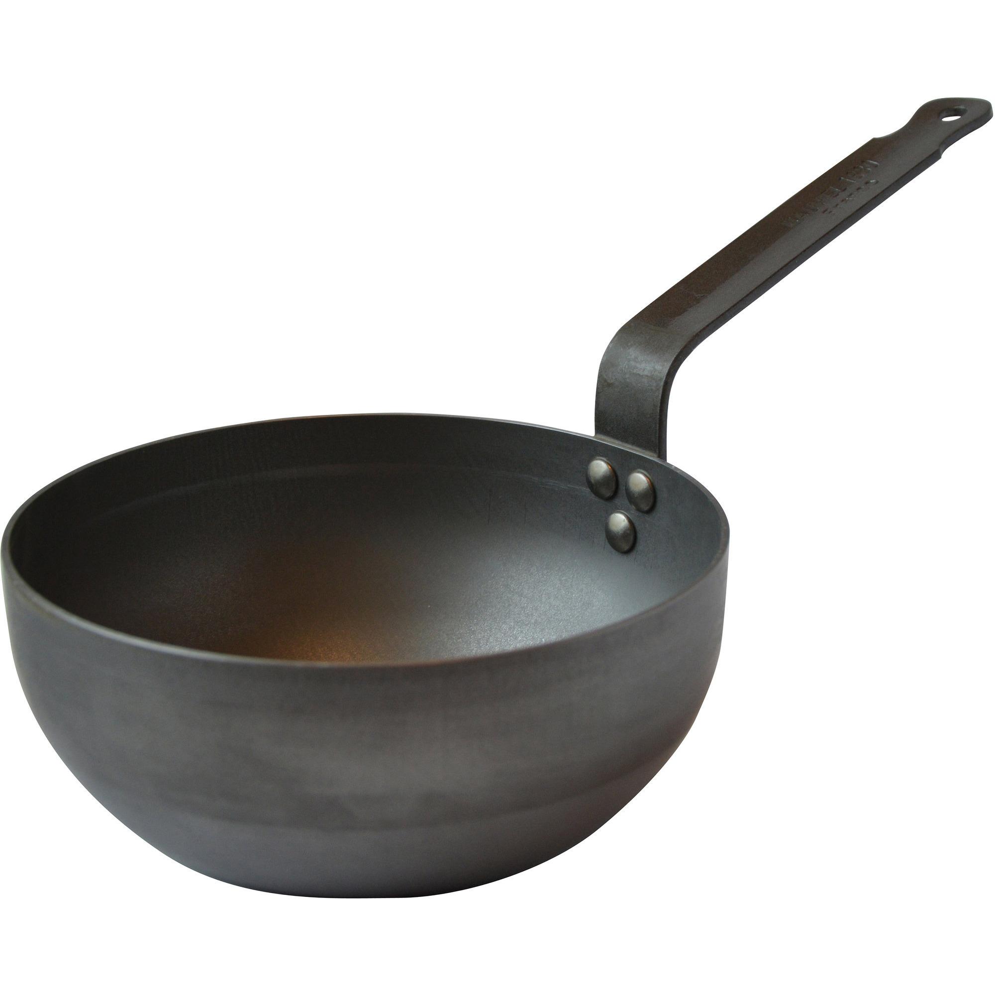 Mauviel Sautepanna rundat kolstål Ø 28 cm