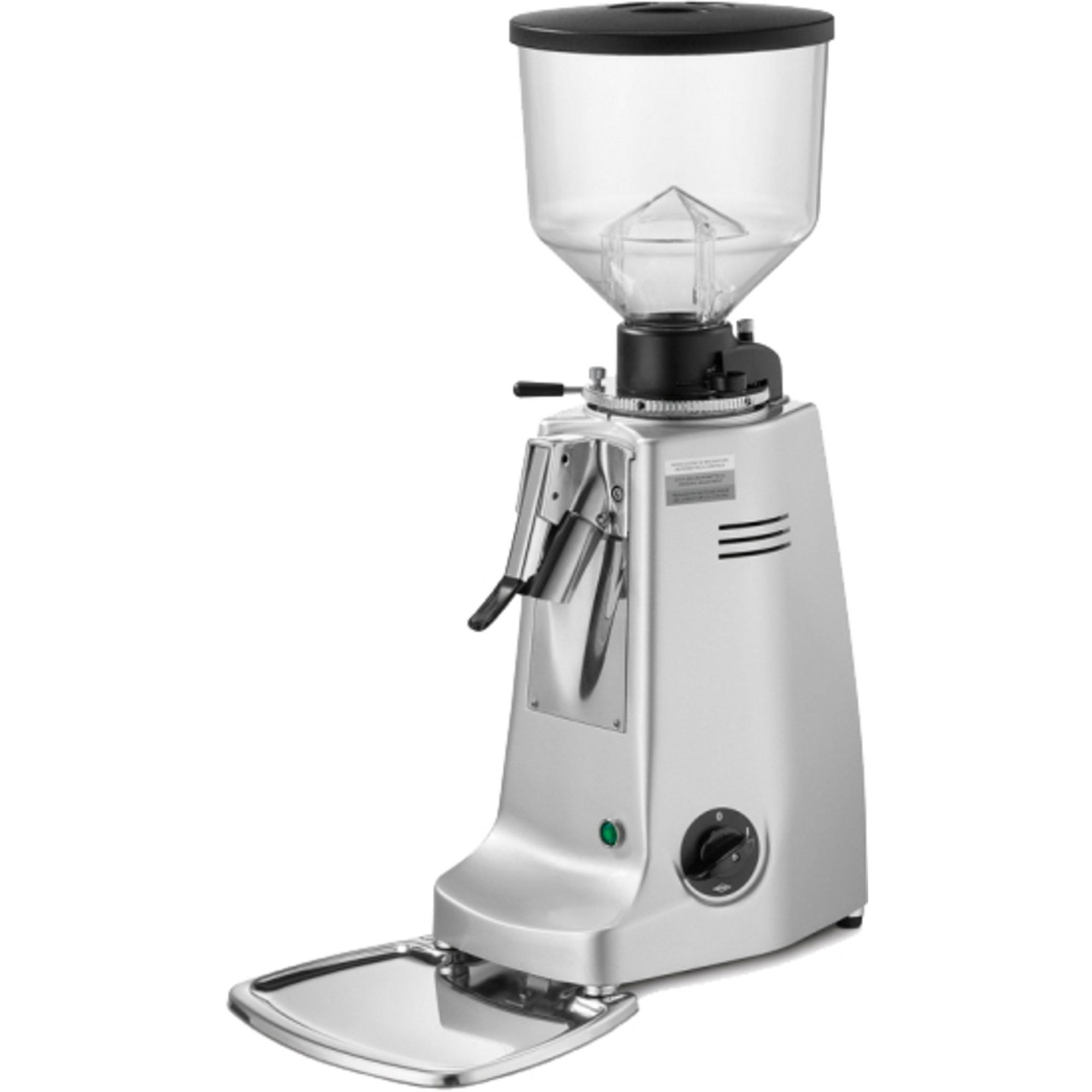 Mazzer Major Electronic Kaffekvarn Silver