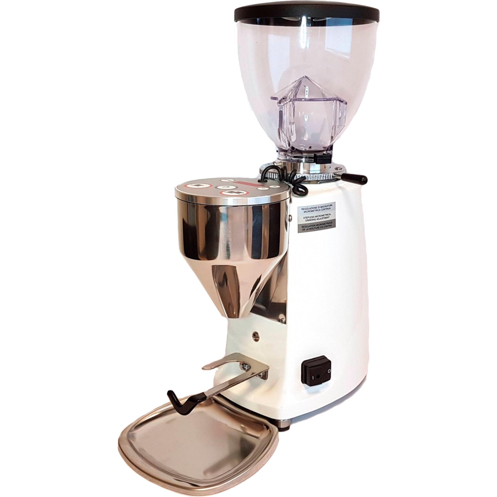 Mazzer Mini Electronic A Kaffekvarn Vit