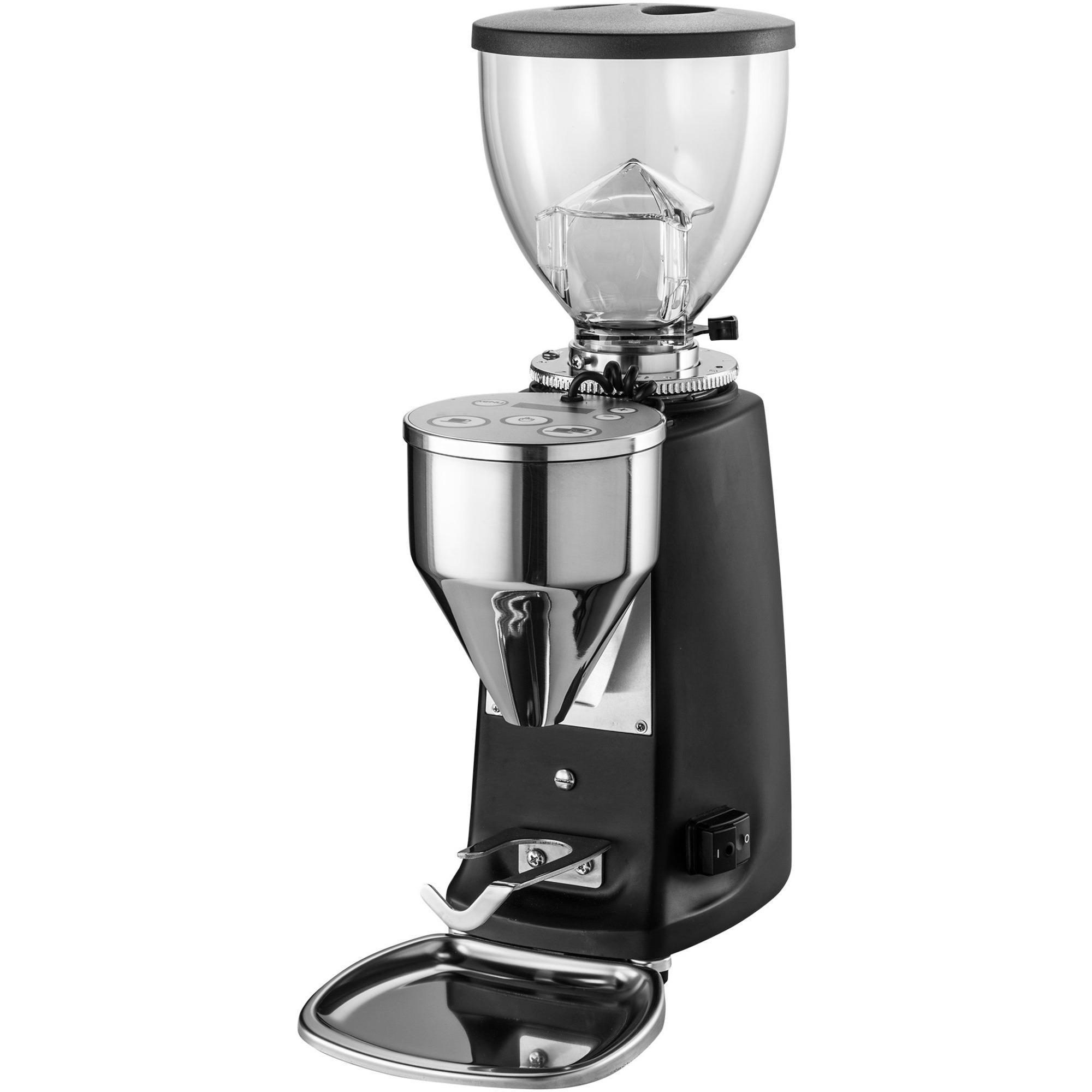 Mazzer Mini Electronic Kaffekvarn Svart
