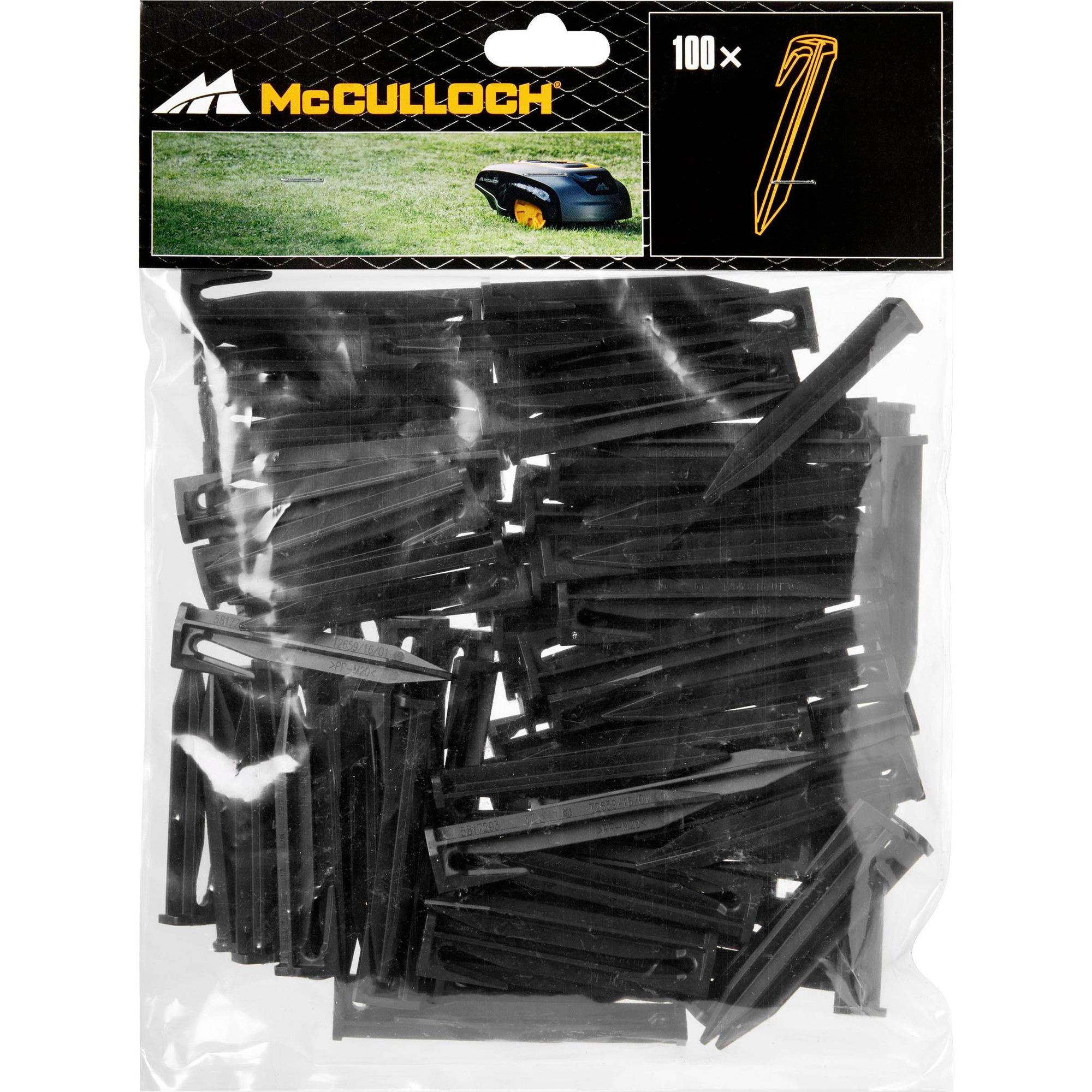 McCulloch 100 st. peggar