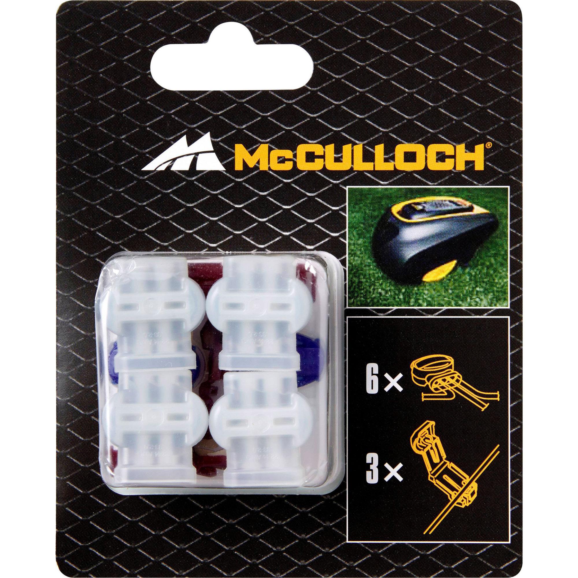 McCulloch Skarvkopplingar 6 st.