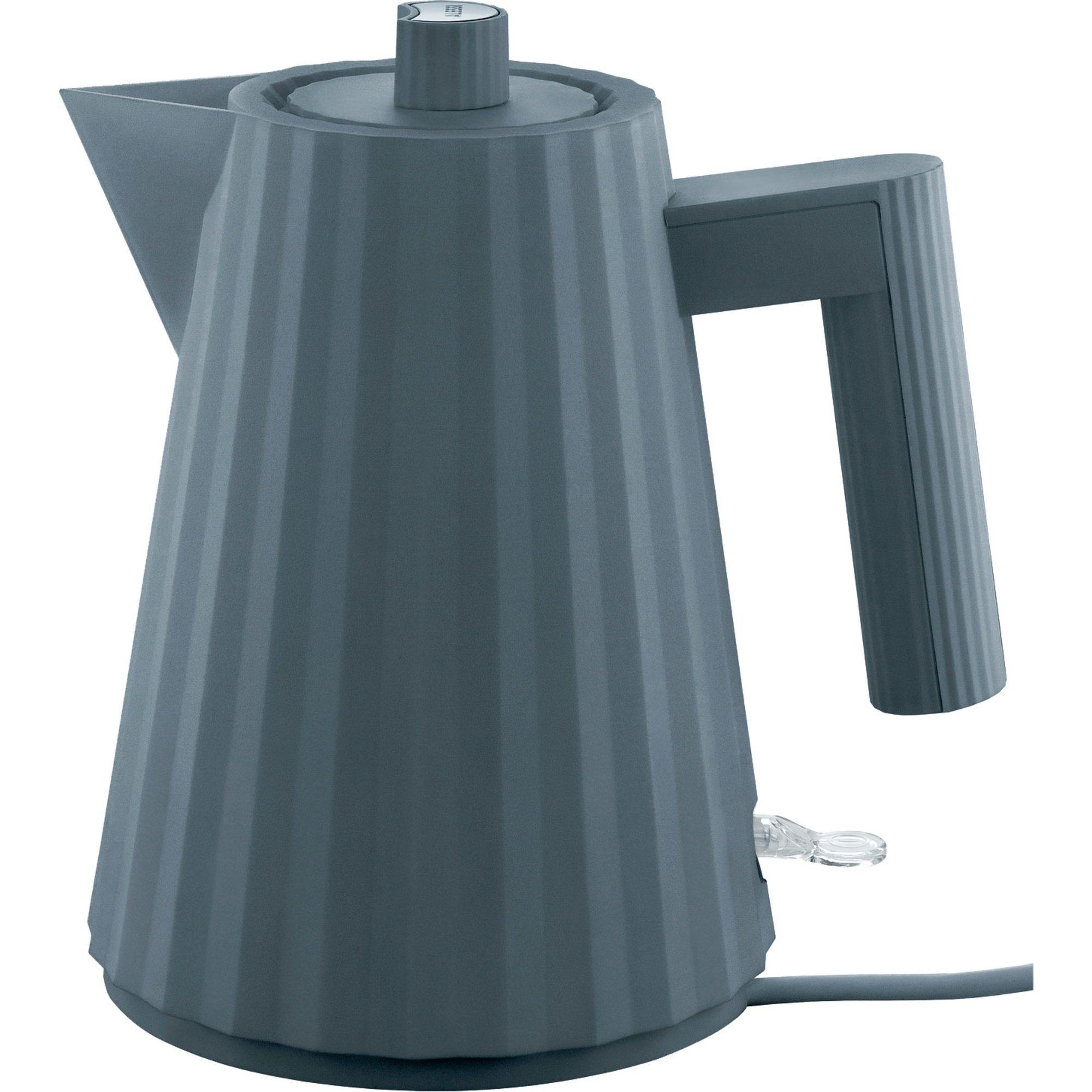 Alessi MDL06 Plissé vattenkokare 1 liter grå