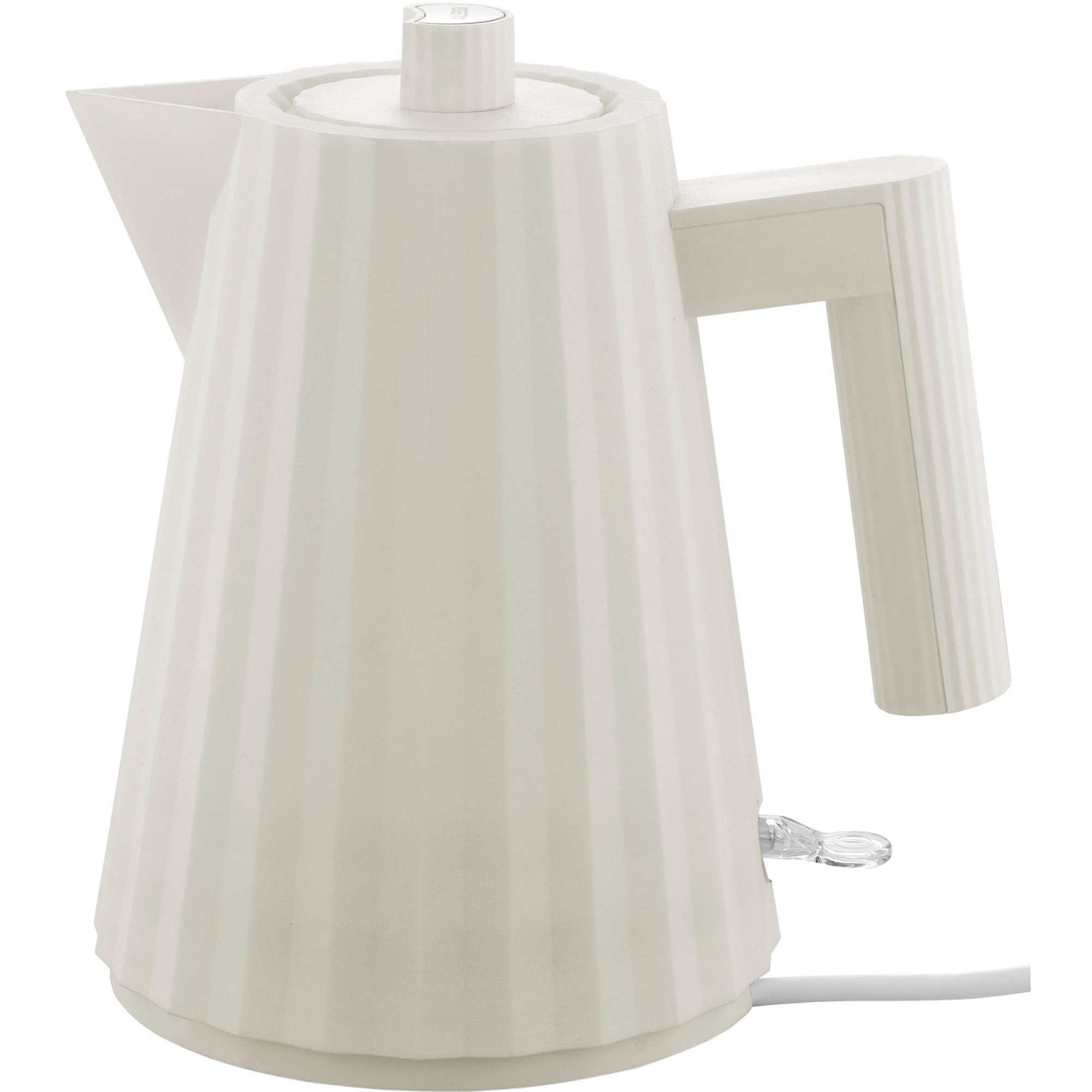 Alessi MDL06 Plissé vattenkokare 1 liter vit