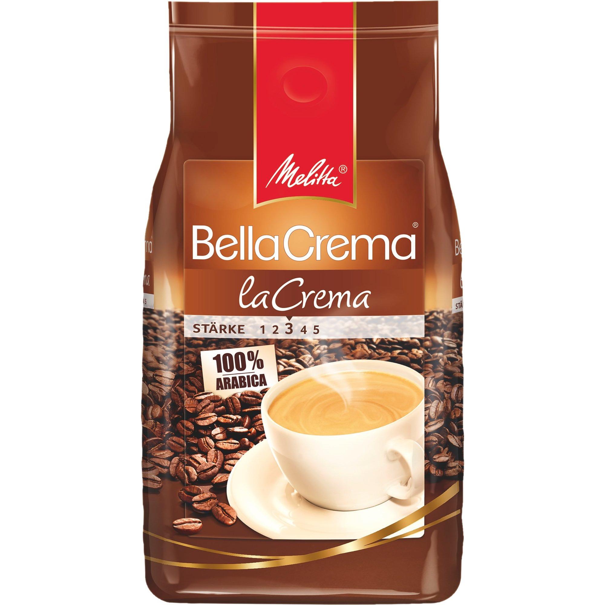 Melitta BellaCrema kaffebönor LaCrema
