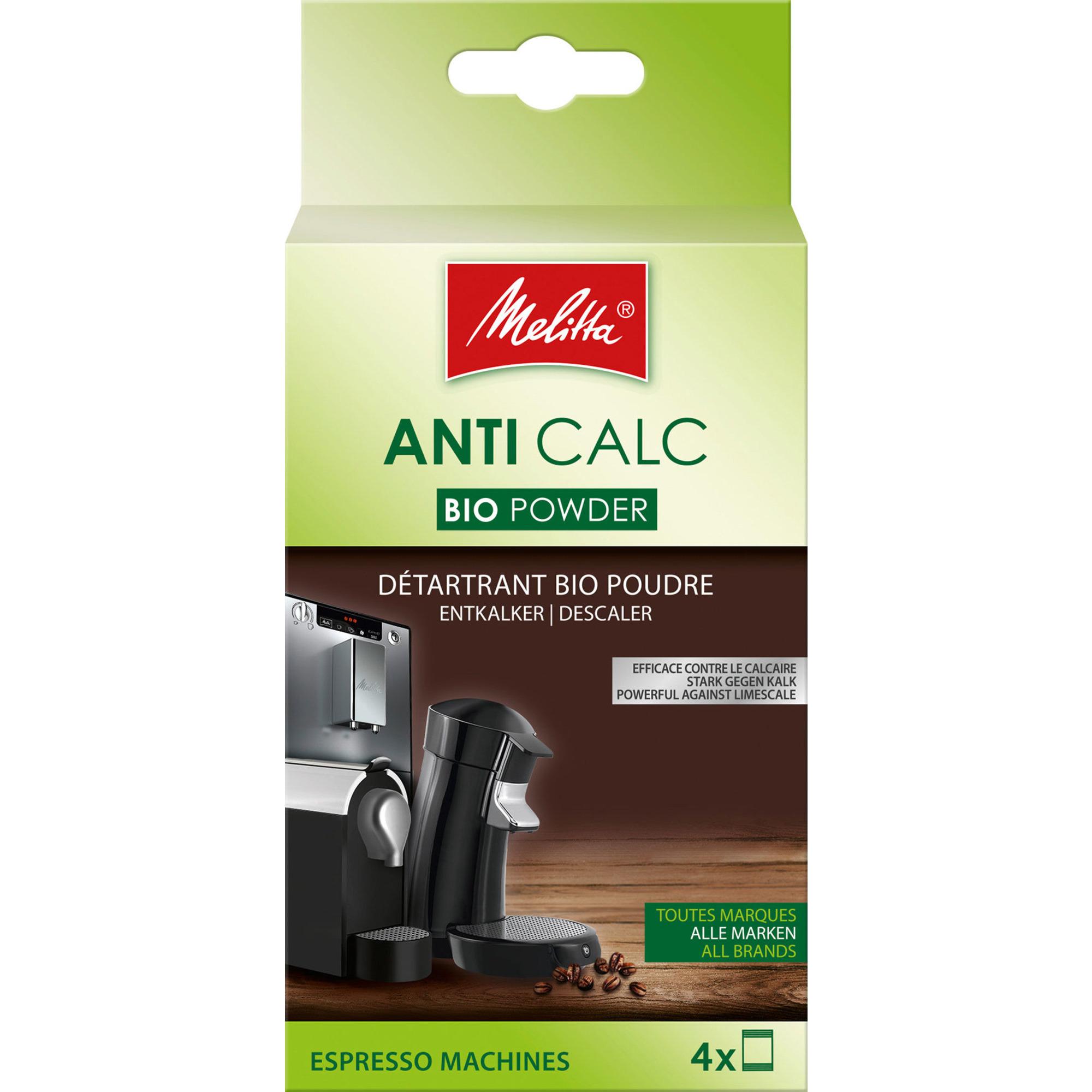 Melitta Bio Avkalkning Kaffemaskin 4x40g