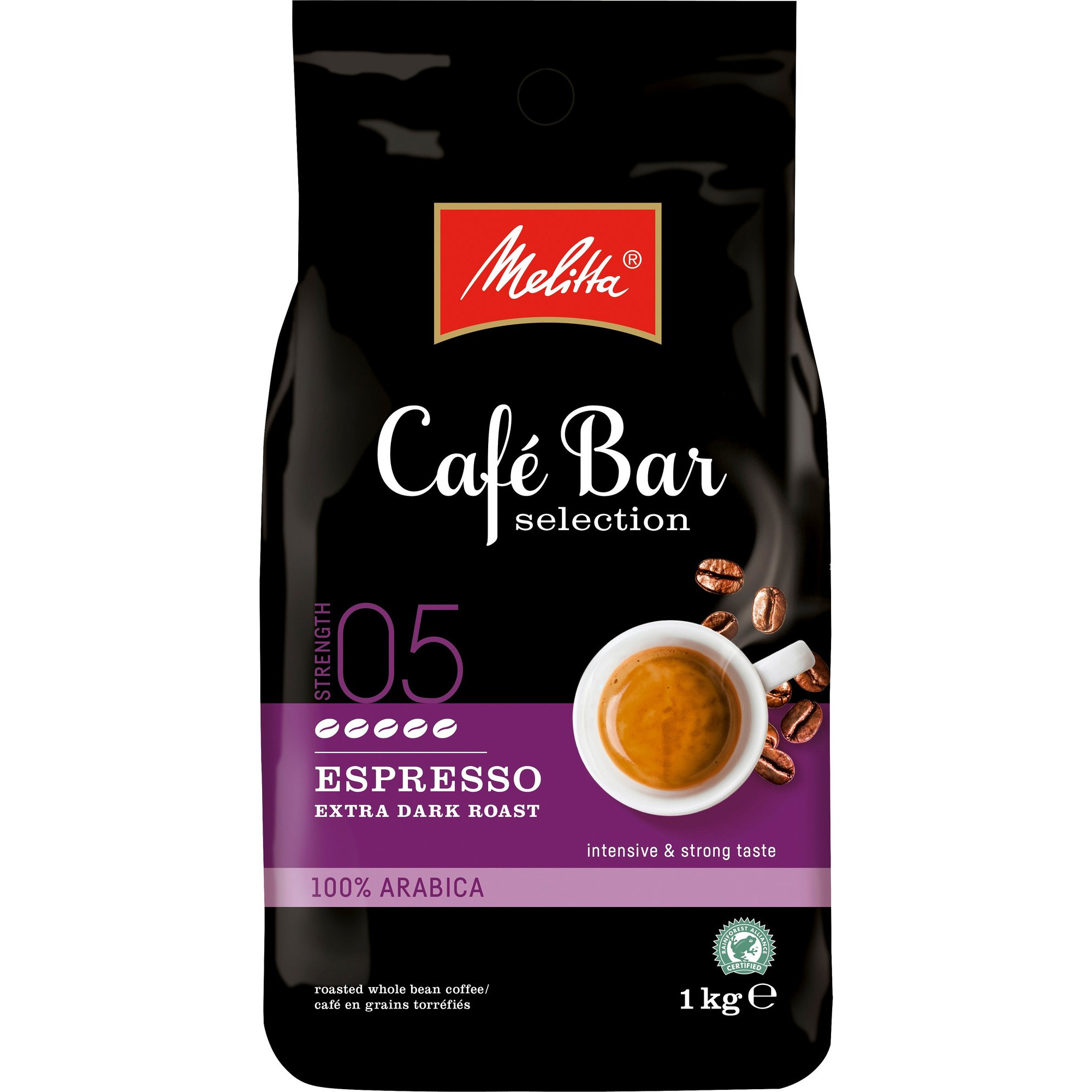 Melitta CaféBar Selection Espressobönor extra dark
