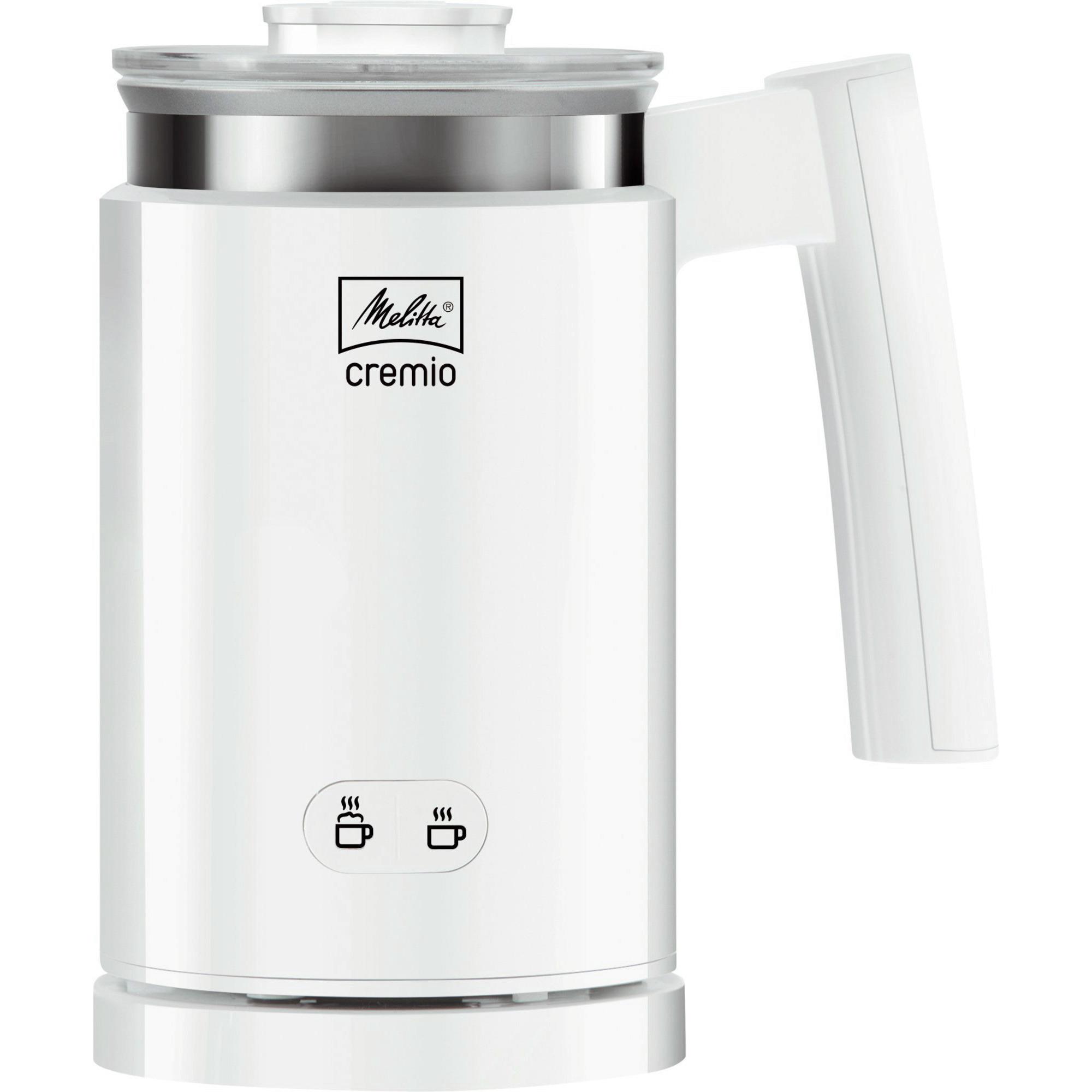 Melitta Cremio II Mjölkskummare Vit