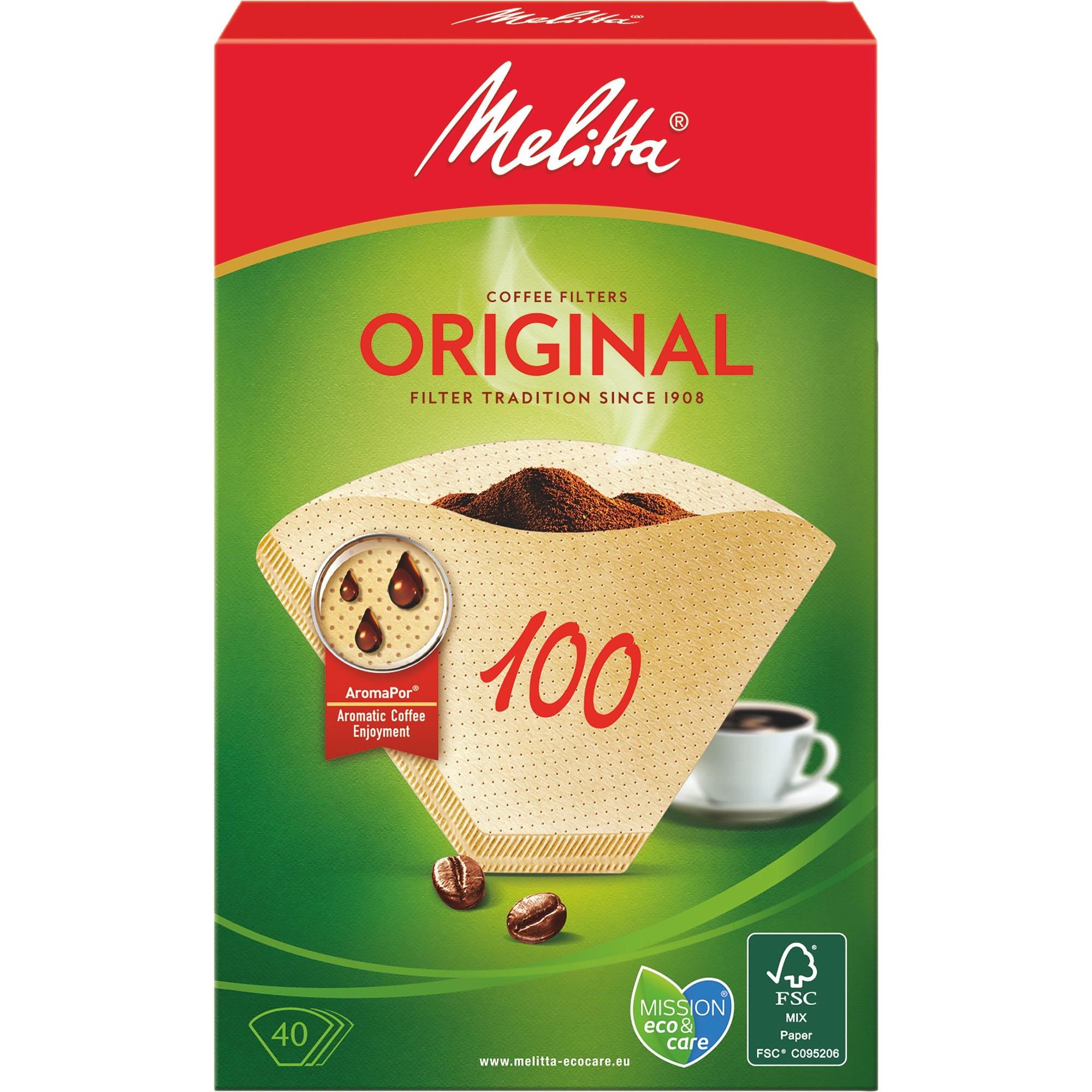 Melitta Kaffefilter 100/40
