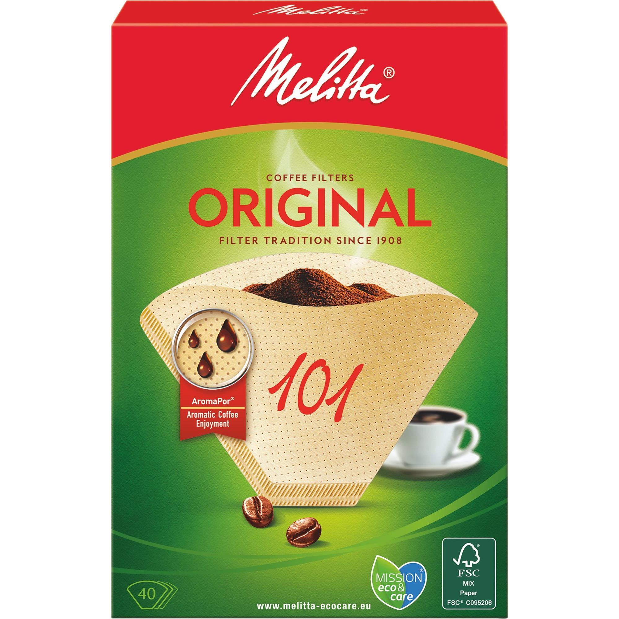 Melitta Kaffefilter 101/40