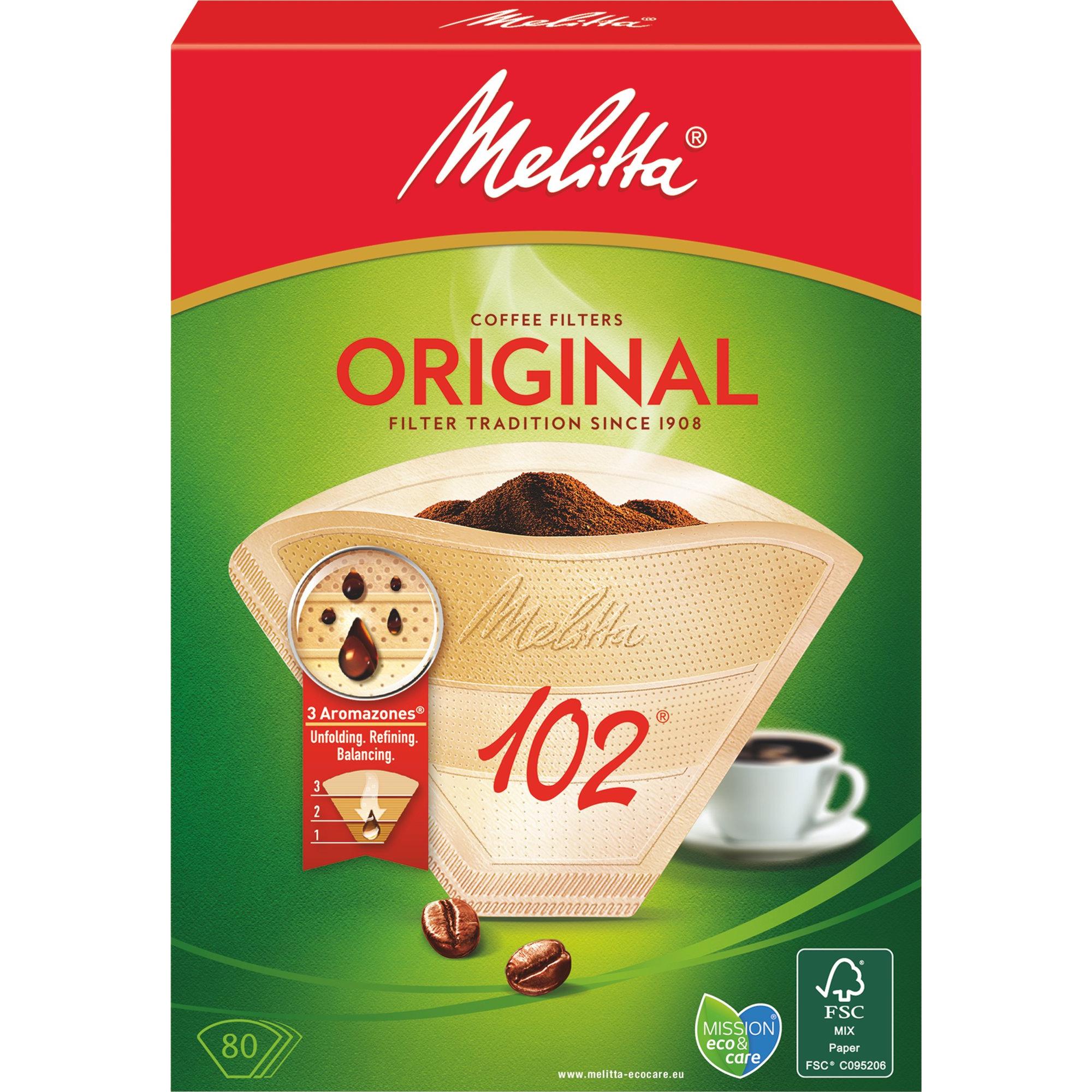 Melitta Kaffefilter 102/80