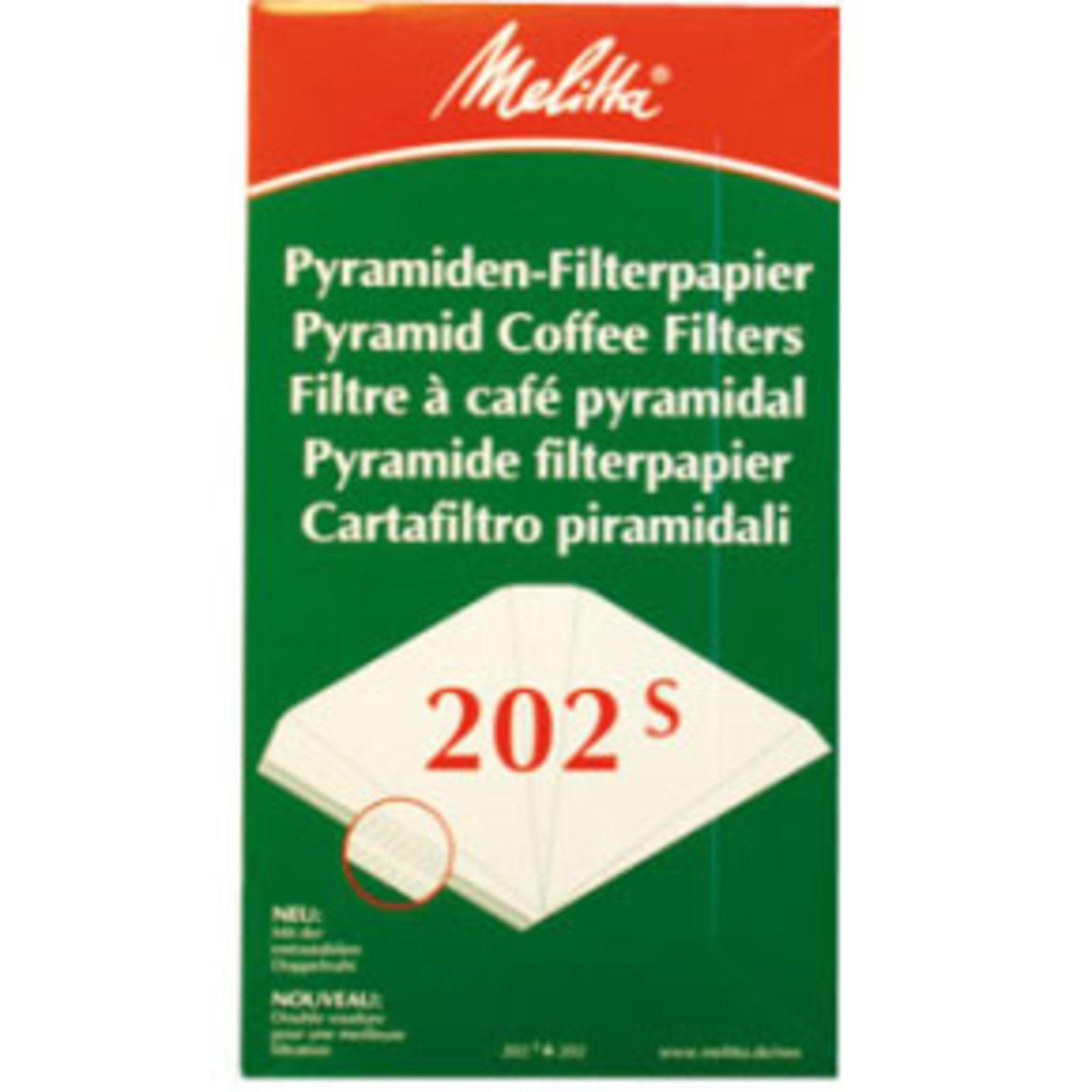Melitta Kaffefilter 202 Pyramidfilter