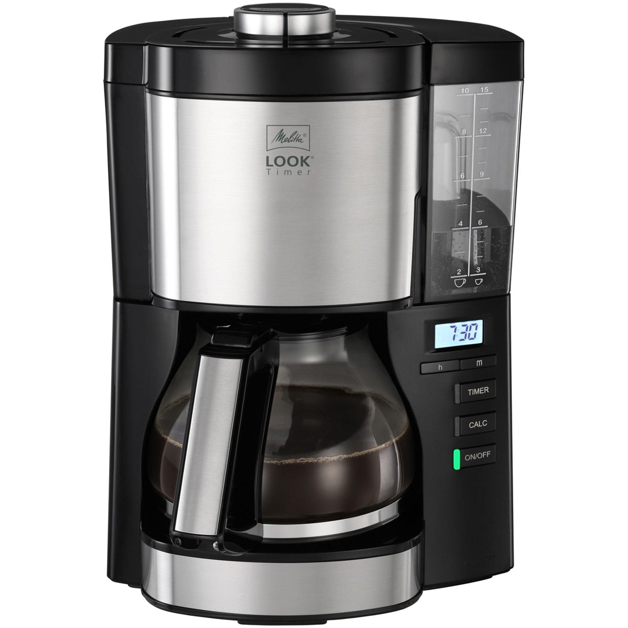 Melitta Look 5.0 timer kaffebryggare