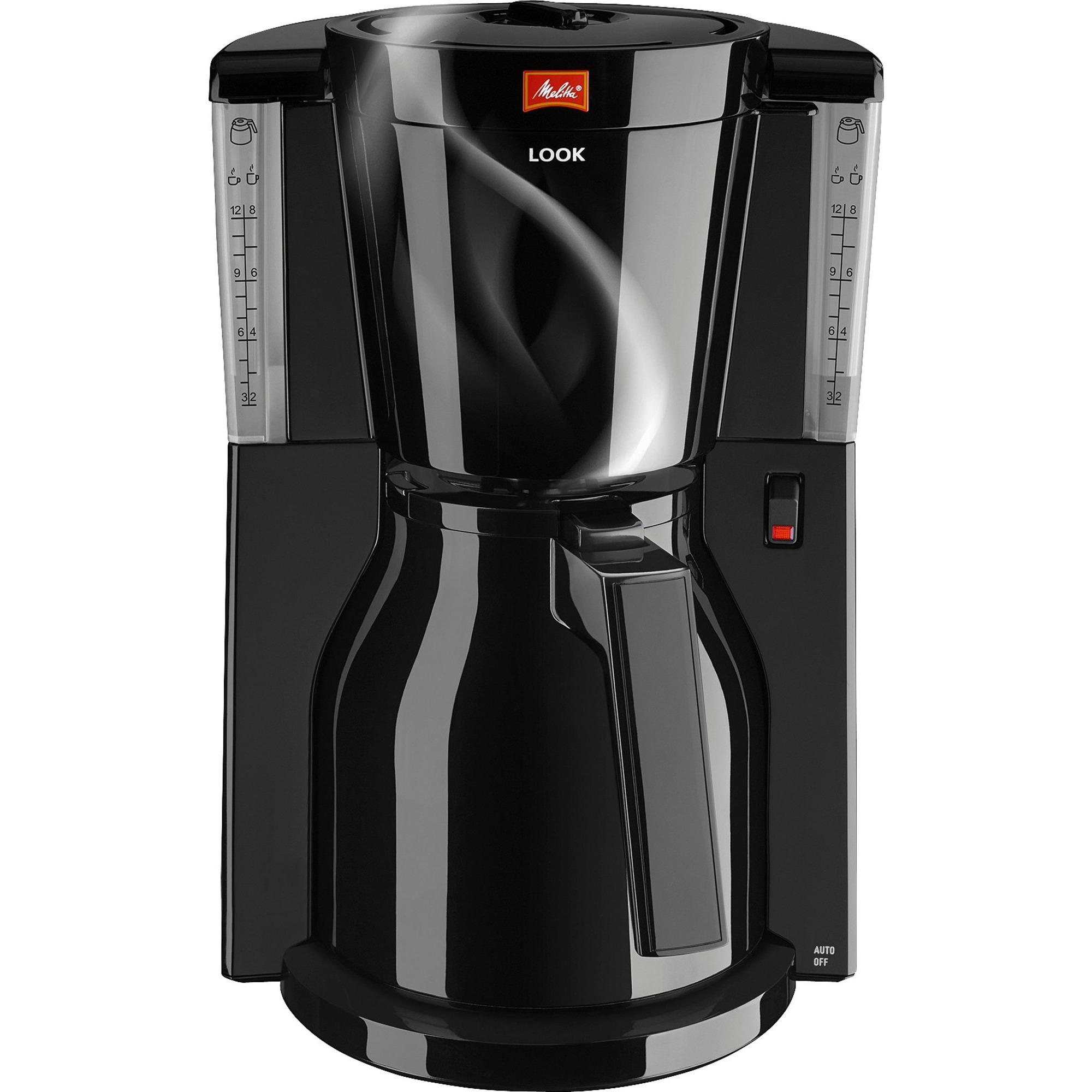 Melitta Look Therm Kaffemaskin Svart