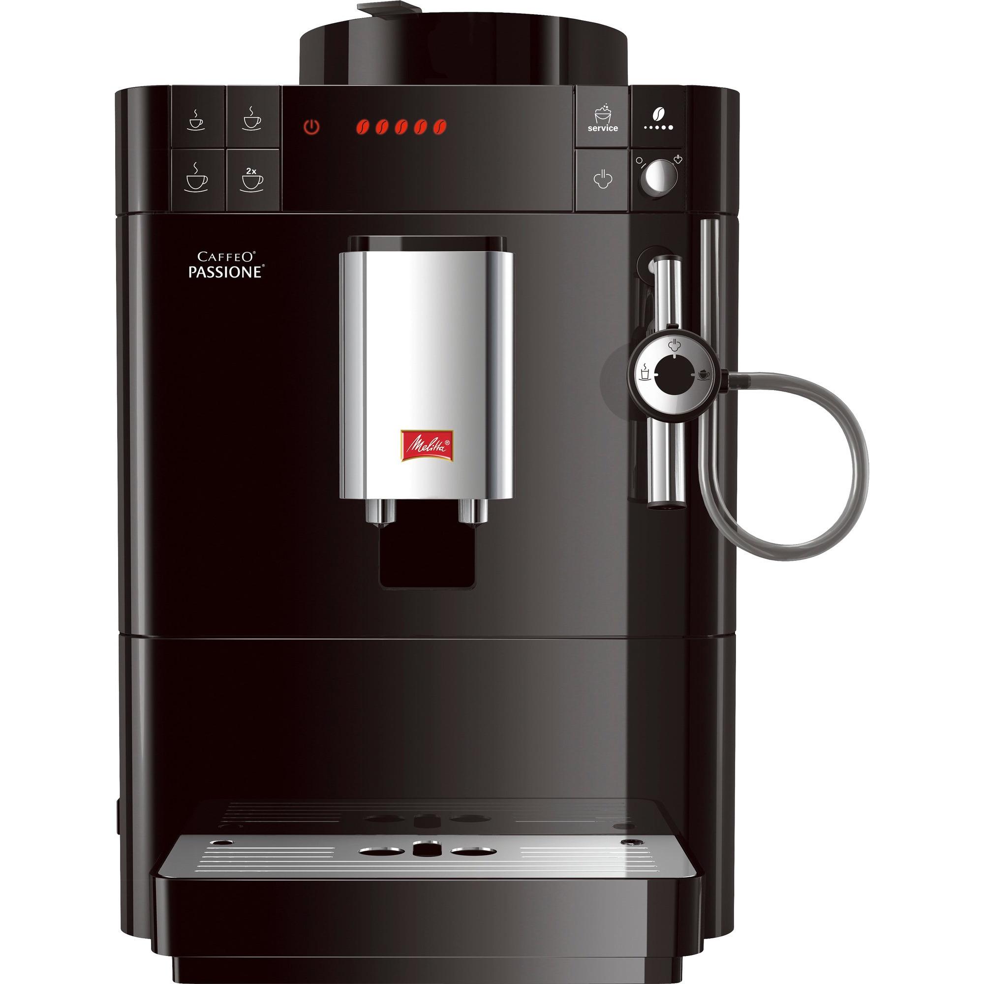 Melitta Caffeo Passione Kaffemaskin Svart