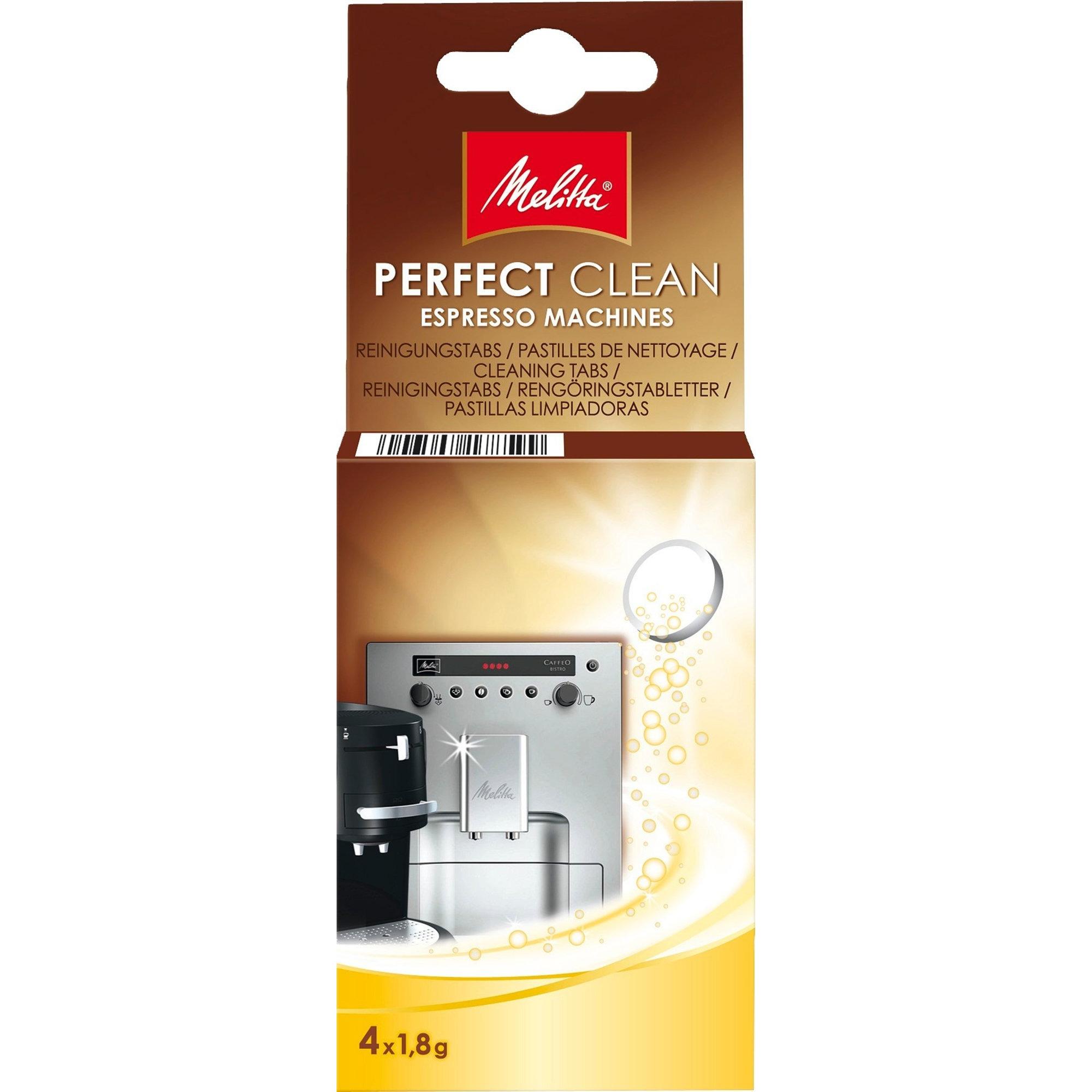 Melitta Rengöringstablett Kaffe/Espressomaskiner 4x18g