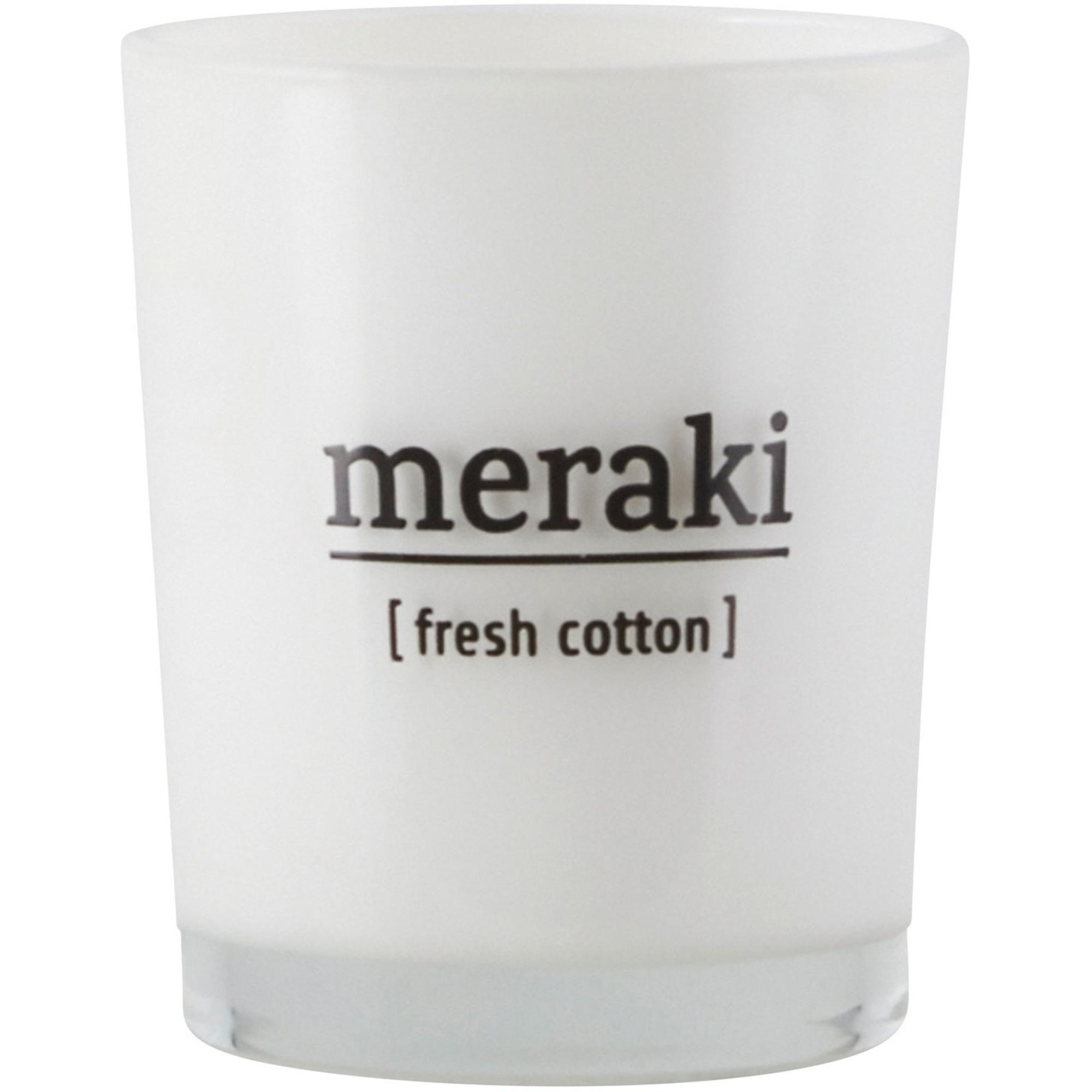 Meraki Doftljus Fresh Cotton