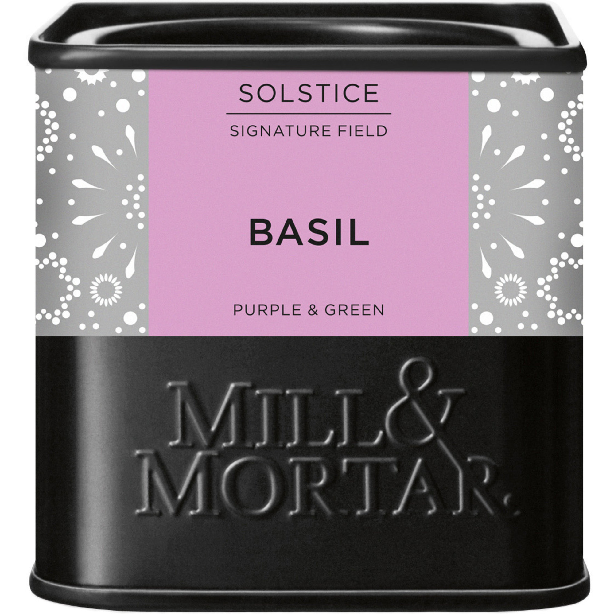 Mill & Mortar Basilika lila&grön