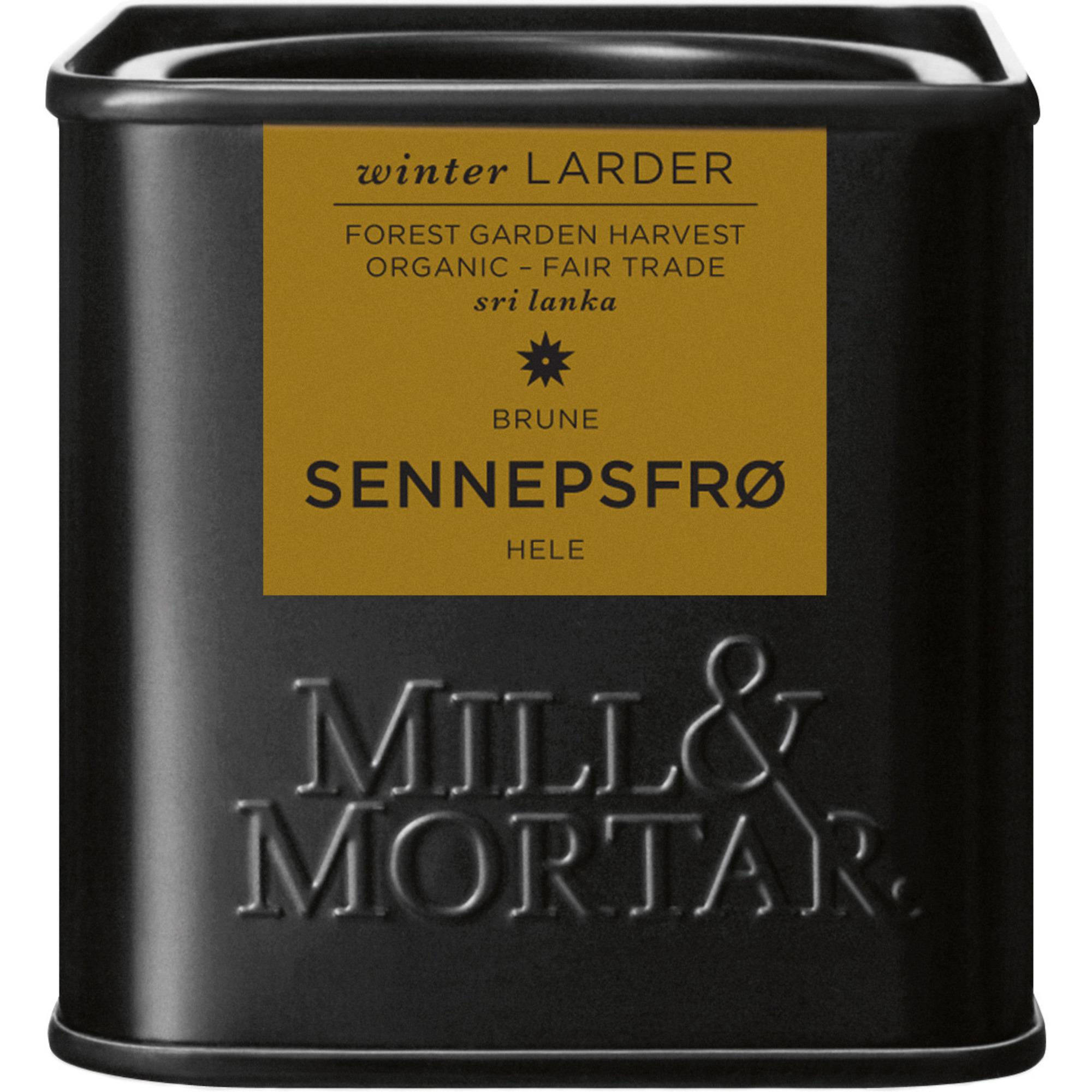 Mill & Mortar Bruna senapsfrön 50 g