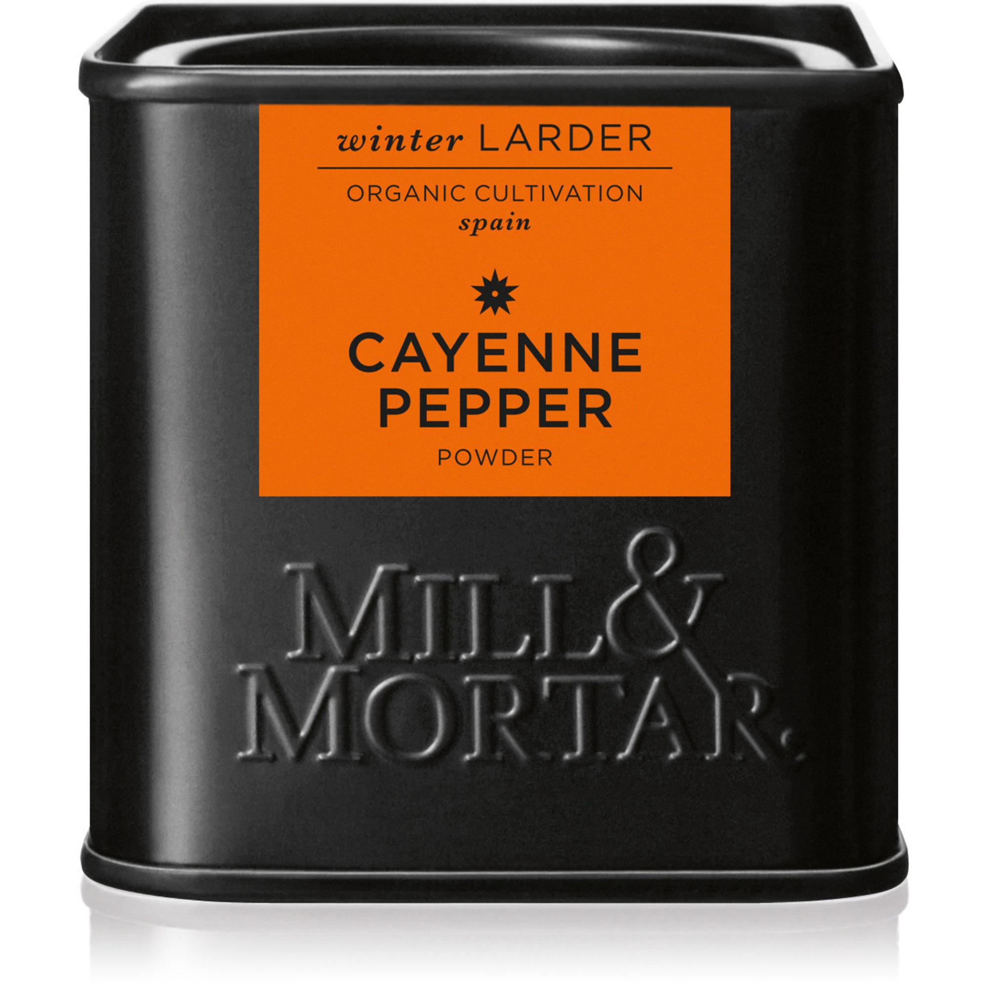 Mill & Mortar Cayennepeppar Ekologisk
