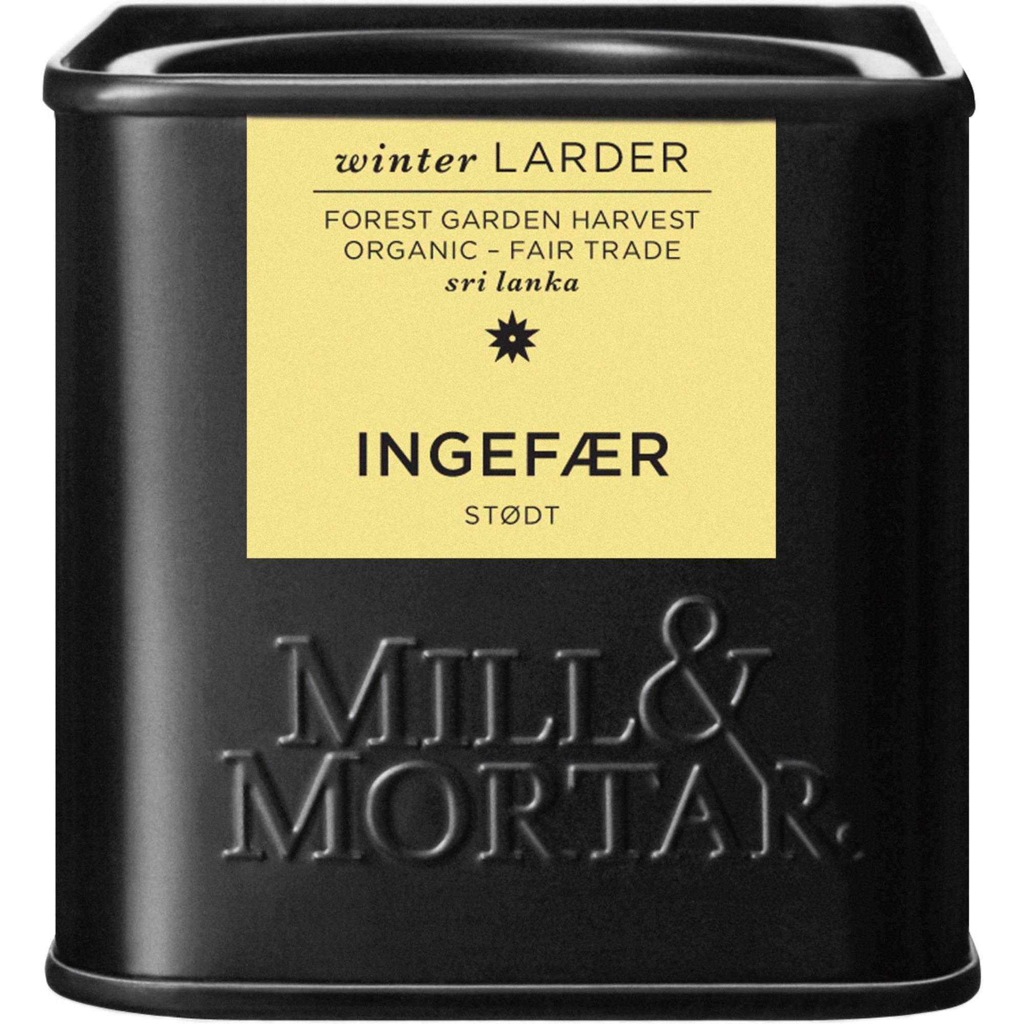 Mill & Mortar Stött ingefära 50 g