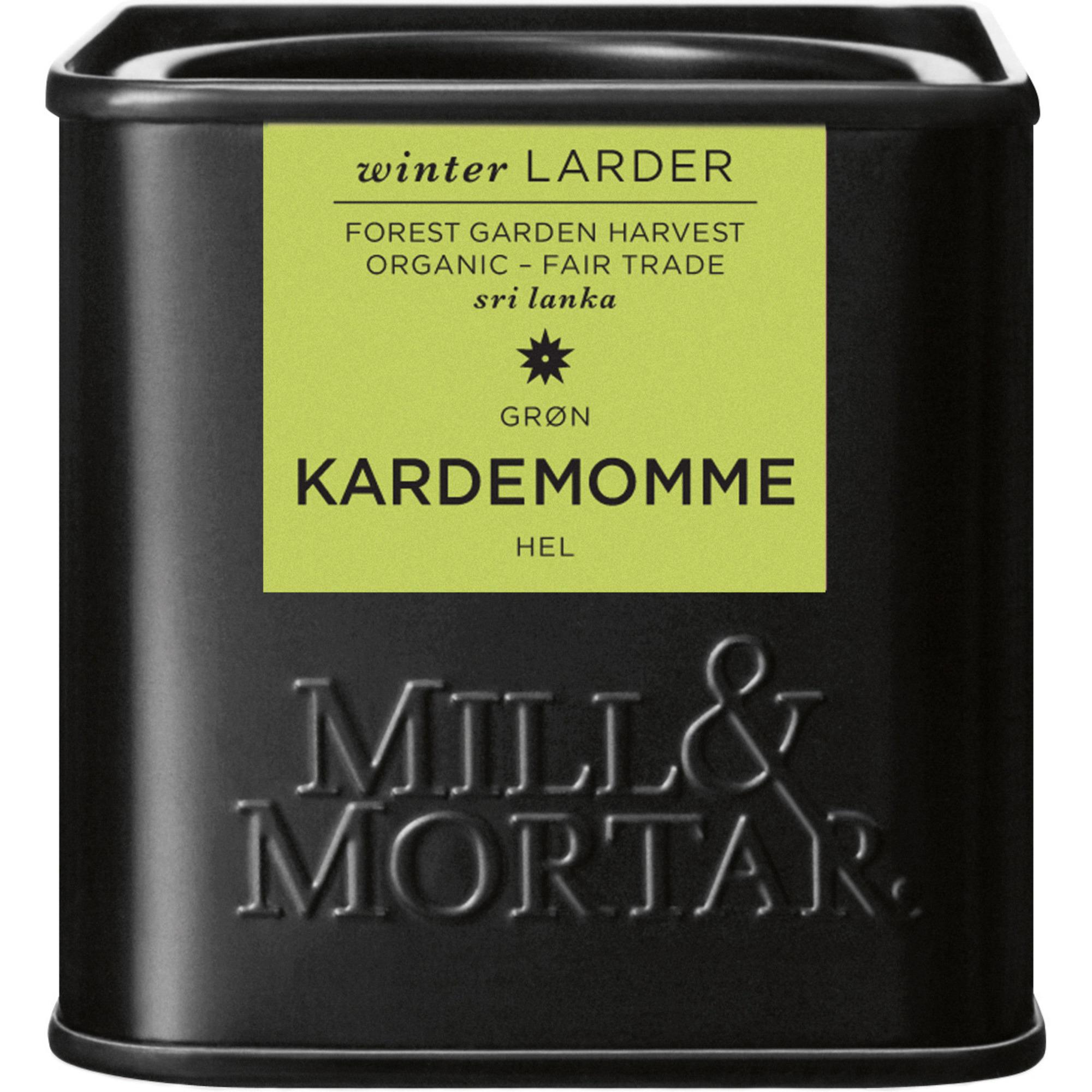 Mill & Mortar Kardemumma hel grön 25 g