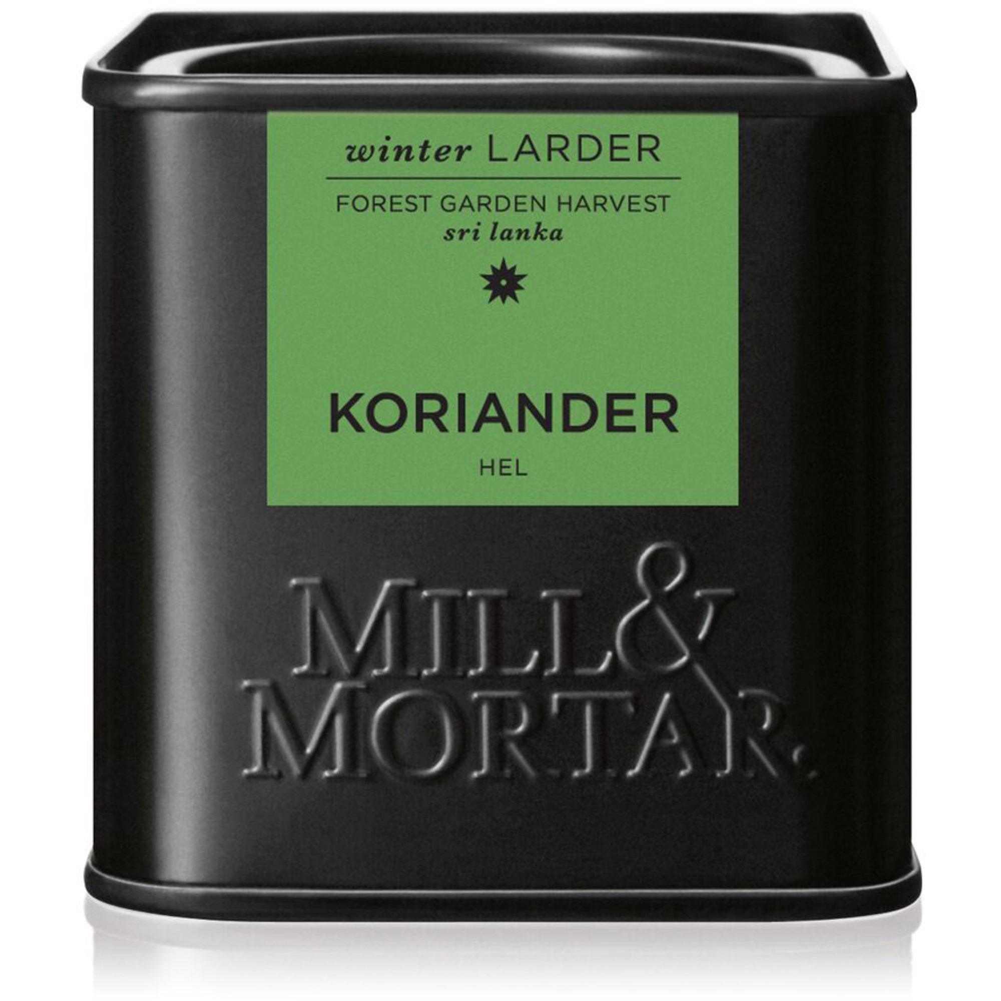Mill & Mortar Koriander hel