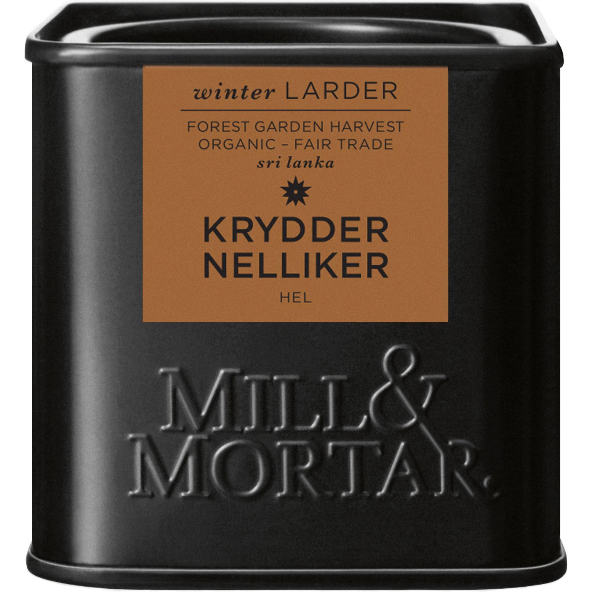 Mill & Mortar Nejlikor hel 35 g
