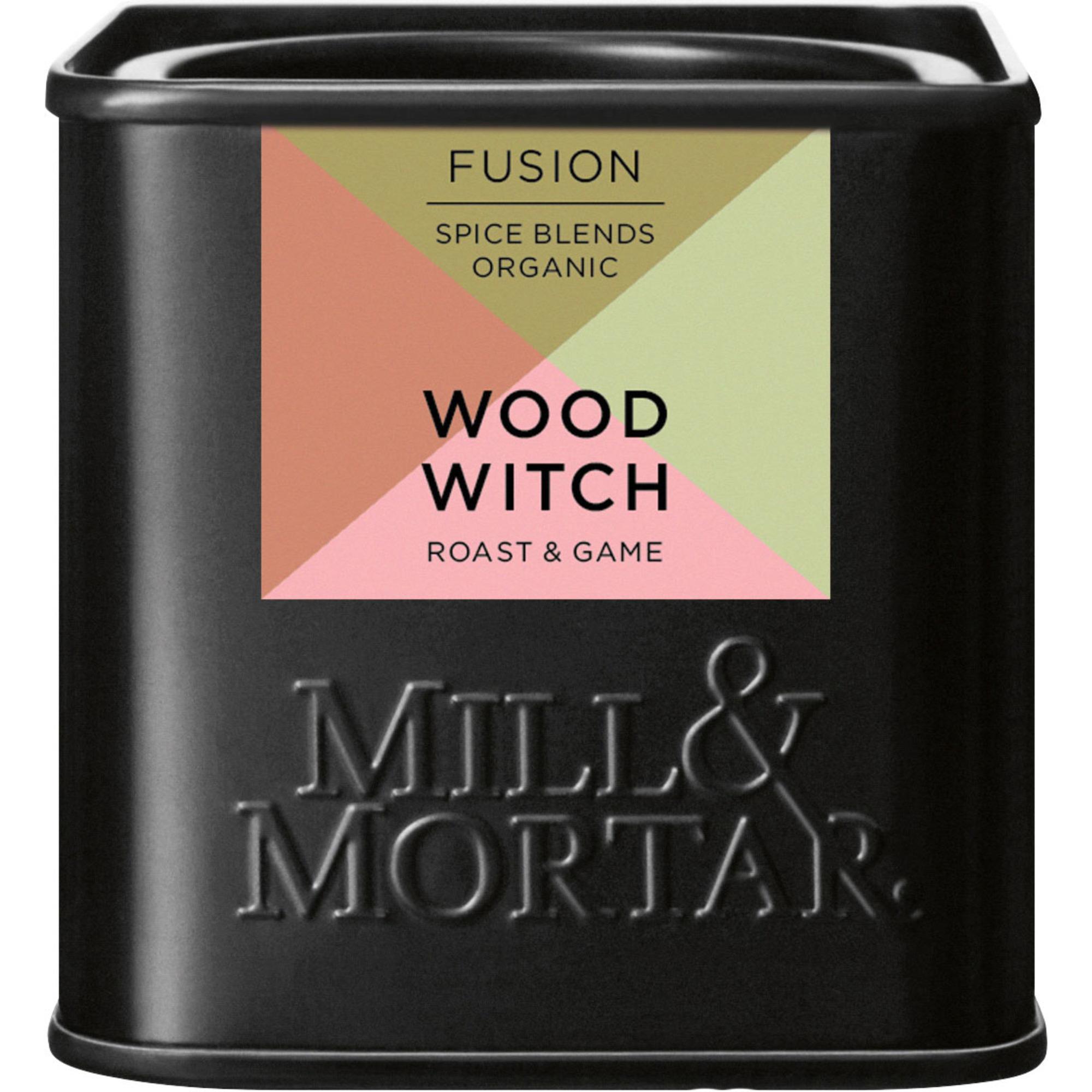 Mill & Mortar Ekologisk Wood Witch krydda