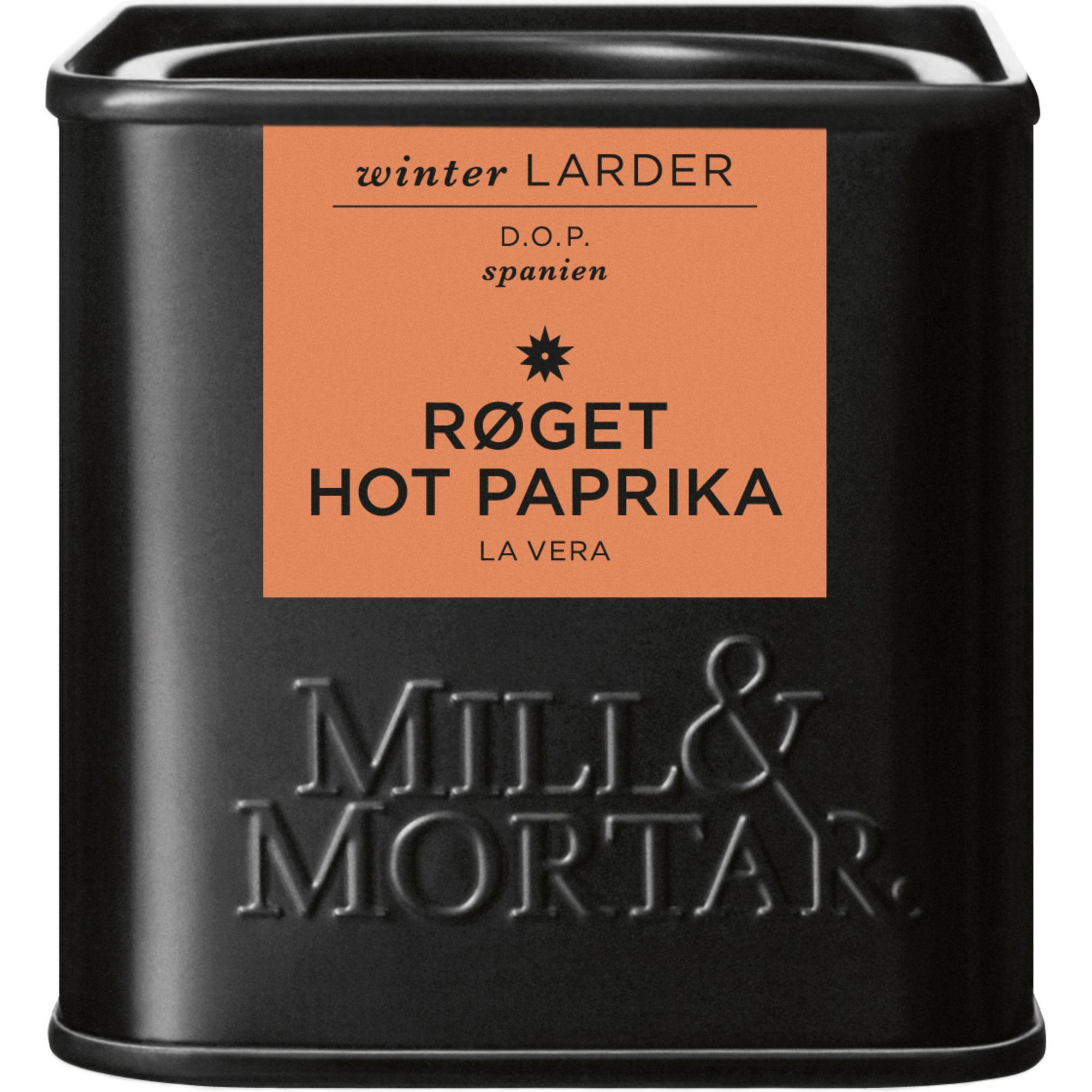 Mill & Mortar Rökt paprika HOT 50 g
