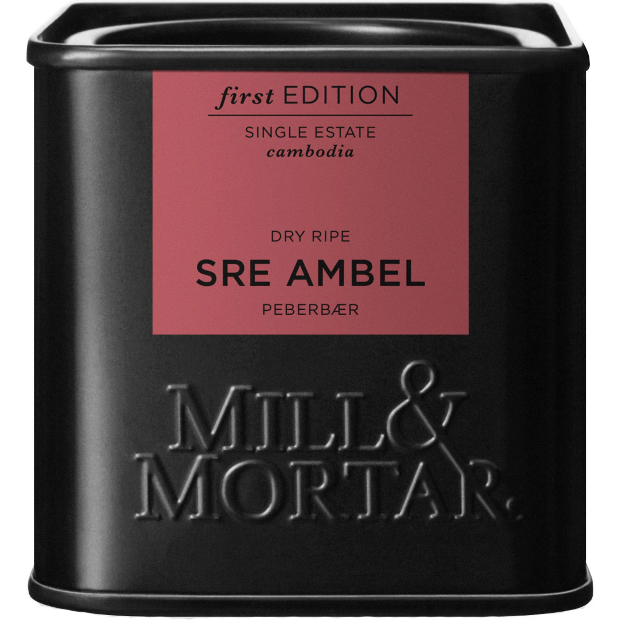Mill & Mortar Sre Ambel Cambodia Dry Ripe peppar