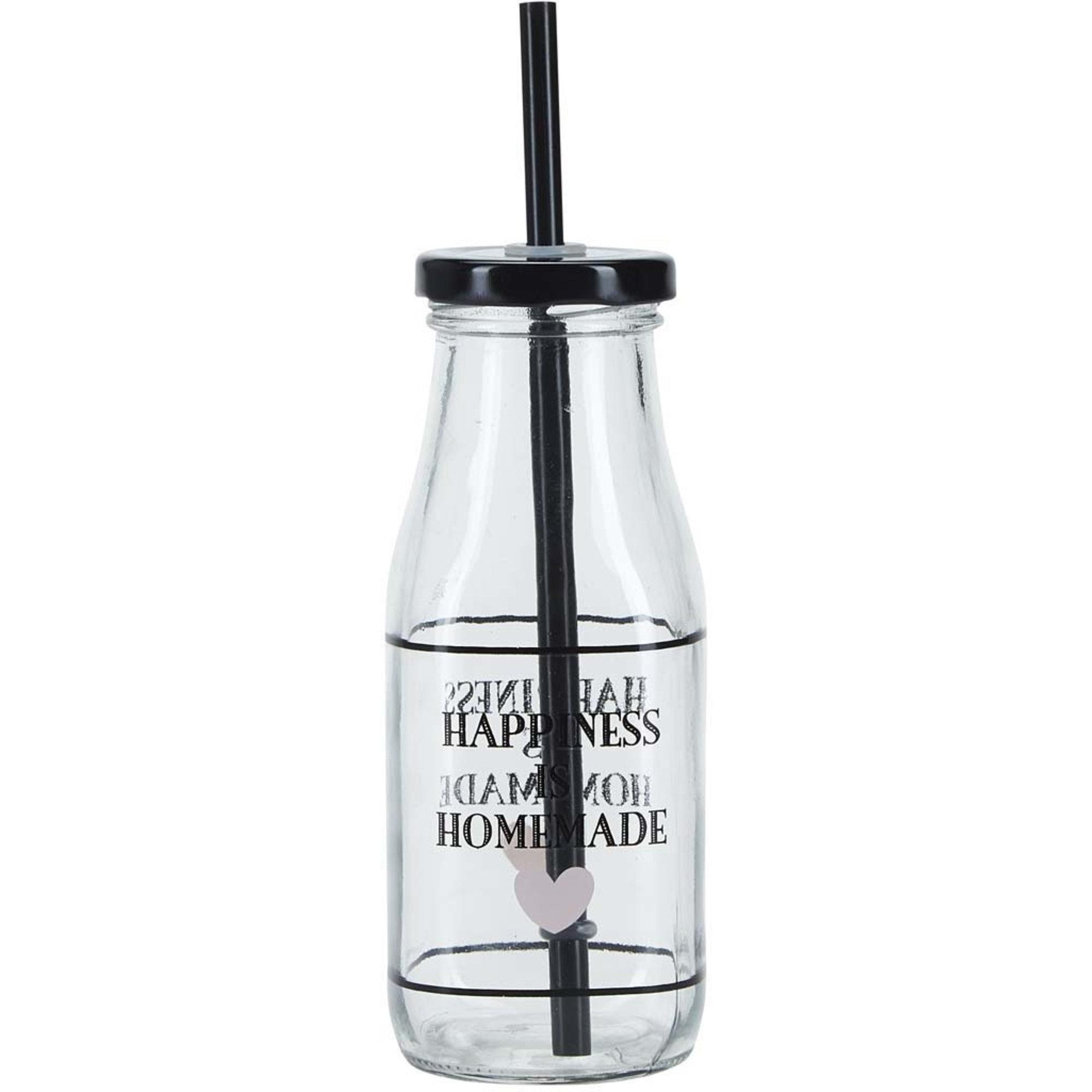 Miss Étoile Flaska med Sugrör Happiness is 320 ml