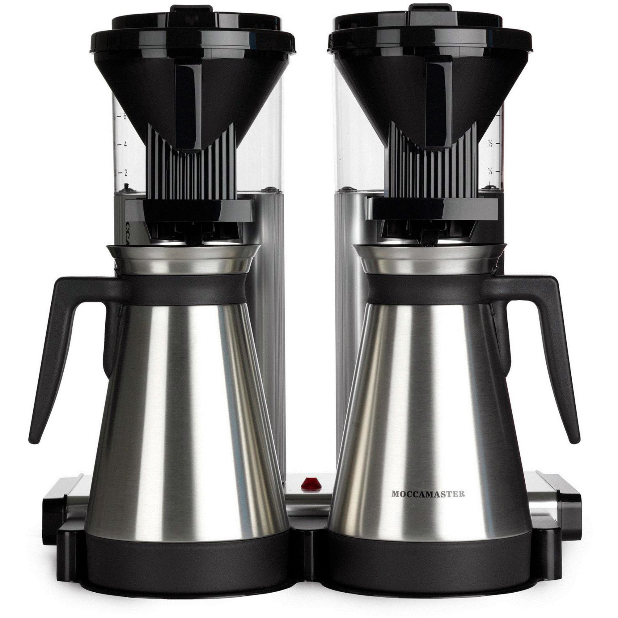 Moccamaster Kaffebryggare Duo CDGT20 Polished Silver