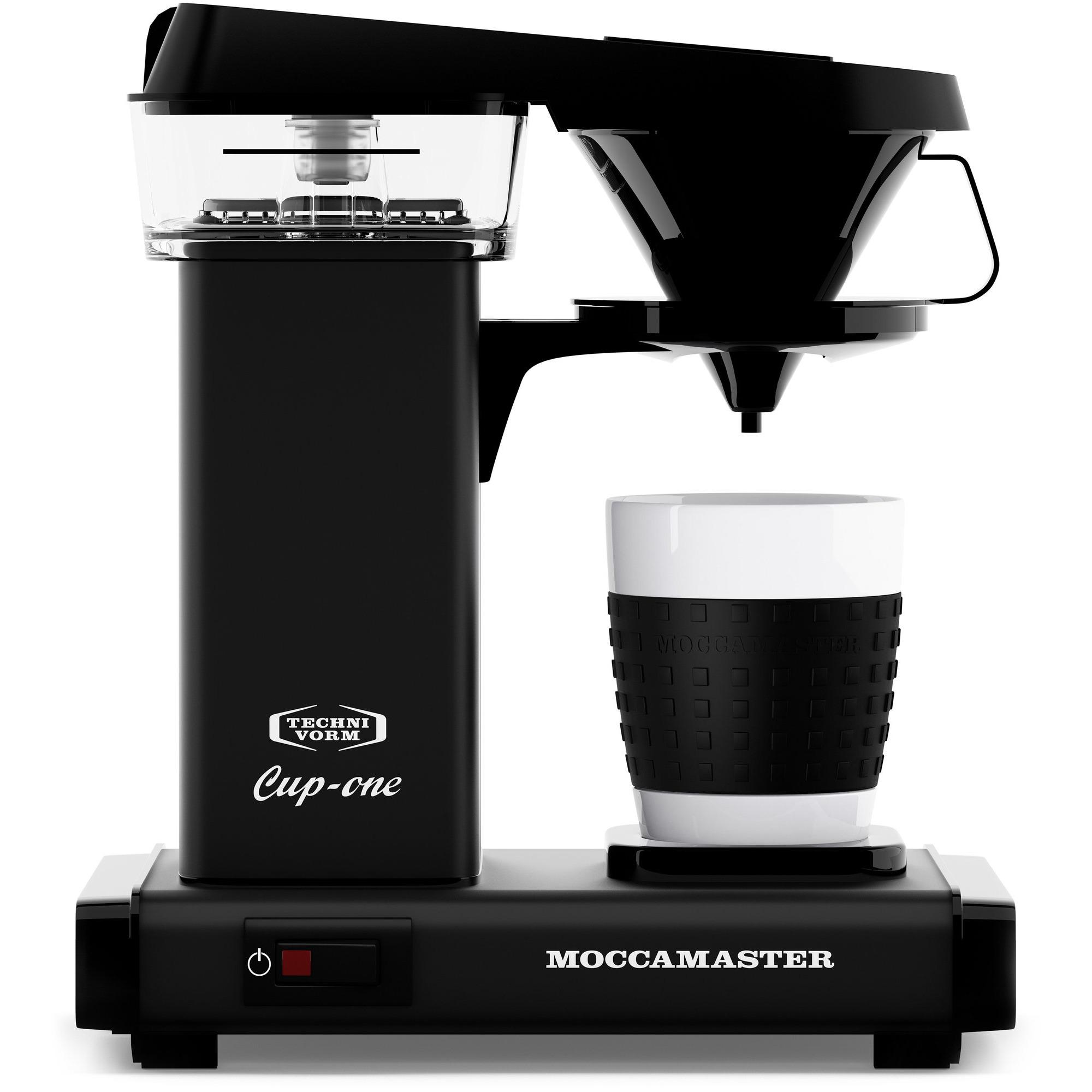 Moccamaster Kaffebryggare CUP ONE Svart Matt